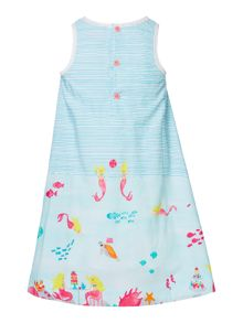Joules Girls Woven Flare Sleeveless Dress