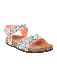 Joules Girls Ditsy Floral Sandals