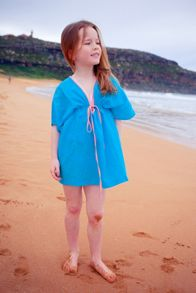 Platypus Australia Girls Tribal Aqua Sundress
