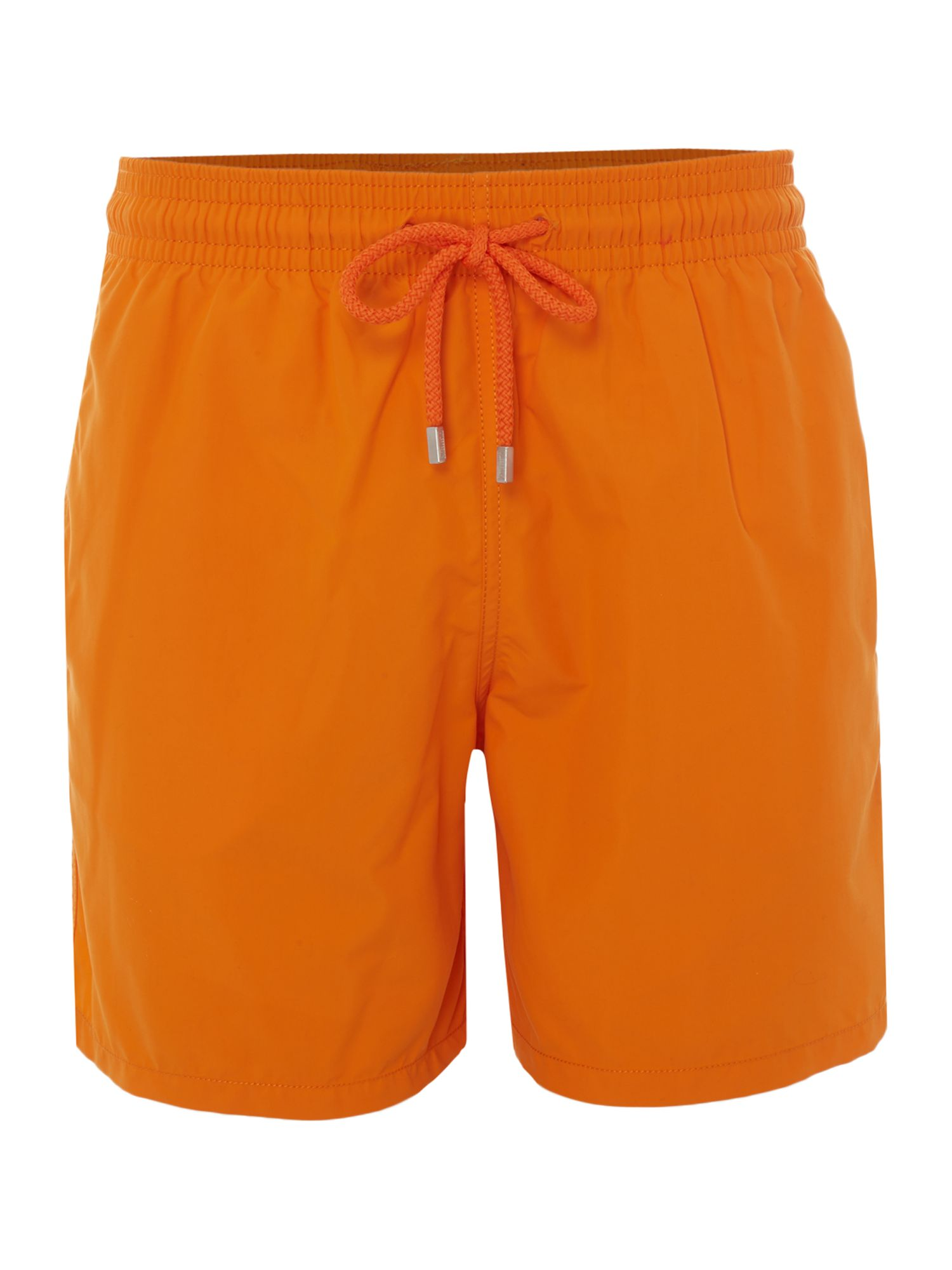 Men's Vilebrequin Moorea Solid Colour Swim Shorts, Orange