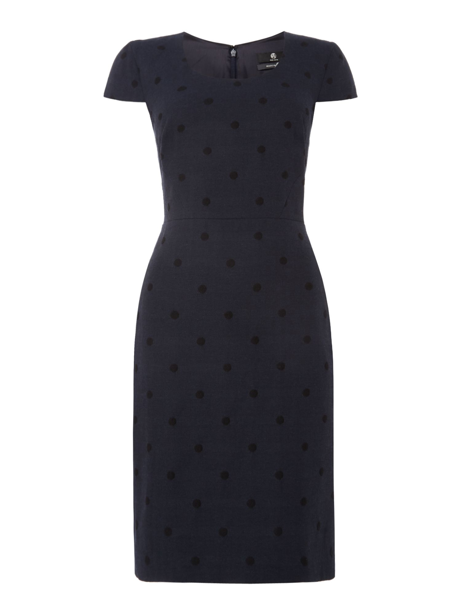 PS By Paul Smith Polka Dot Dress, Blue