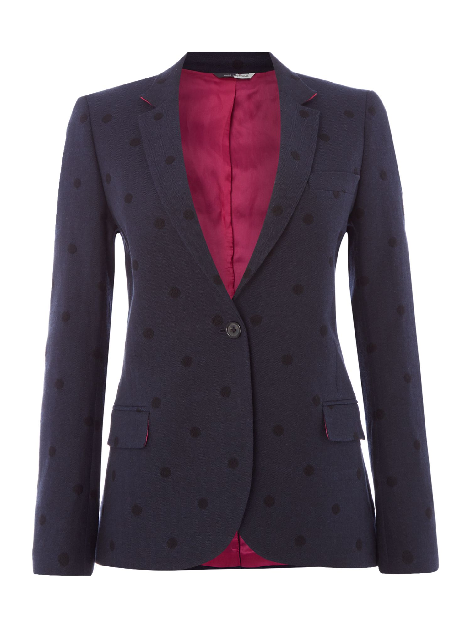 PS By Paul Smith Polka Dot Jacket, Blue