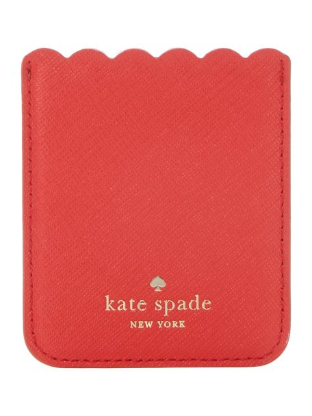 Kate Spade New York Scallop phone sticker pocket / £25