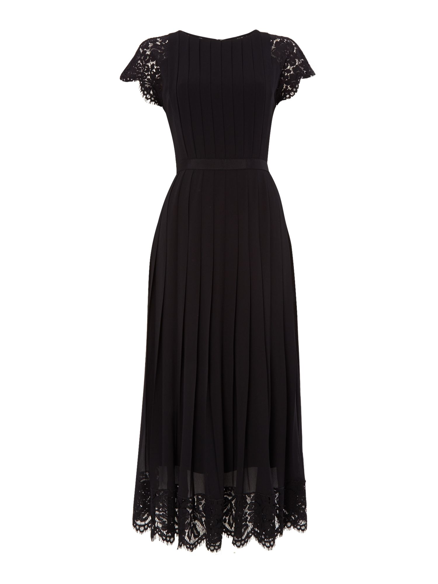 PS By Paul Smith Lace long dress, Black