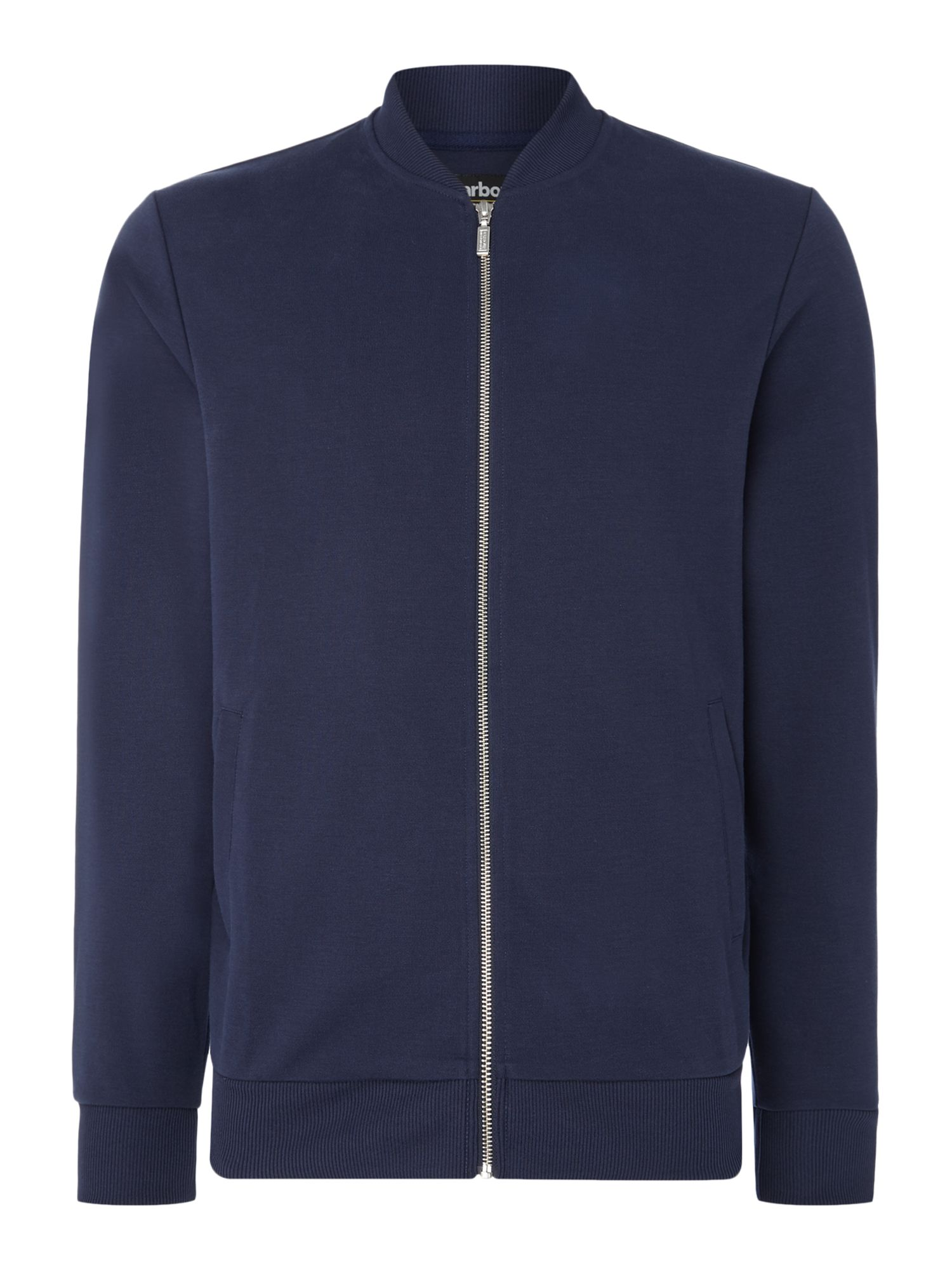Men's Barbour Sports sani zip through bomber, Blue
