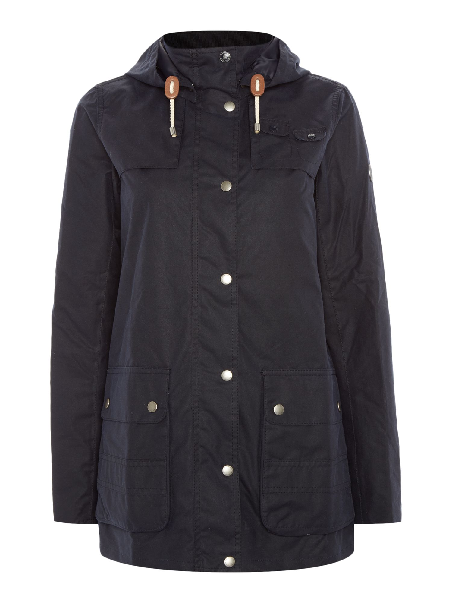 Barbour Headland wax jacket, Blue