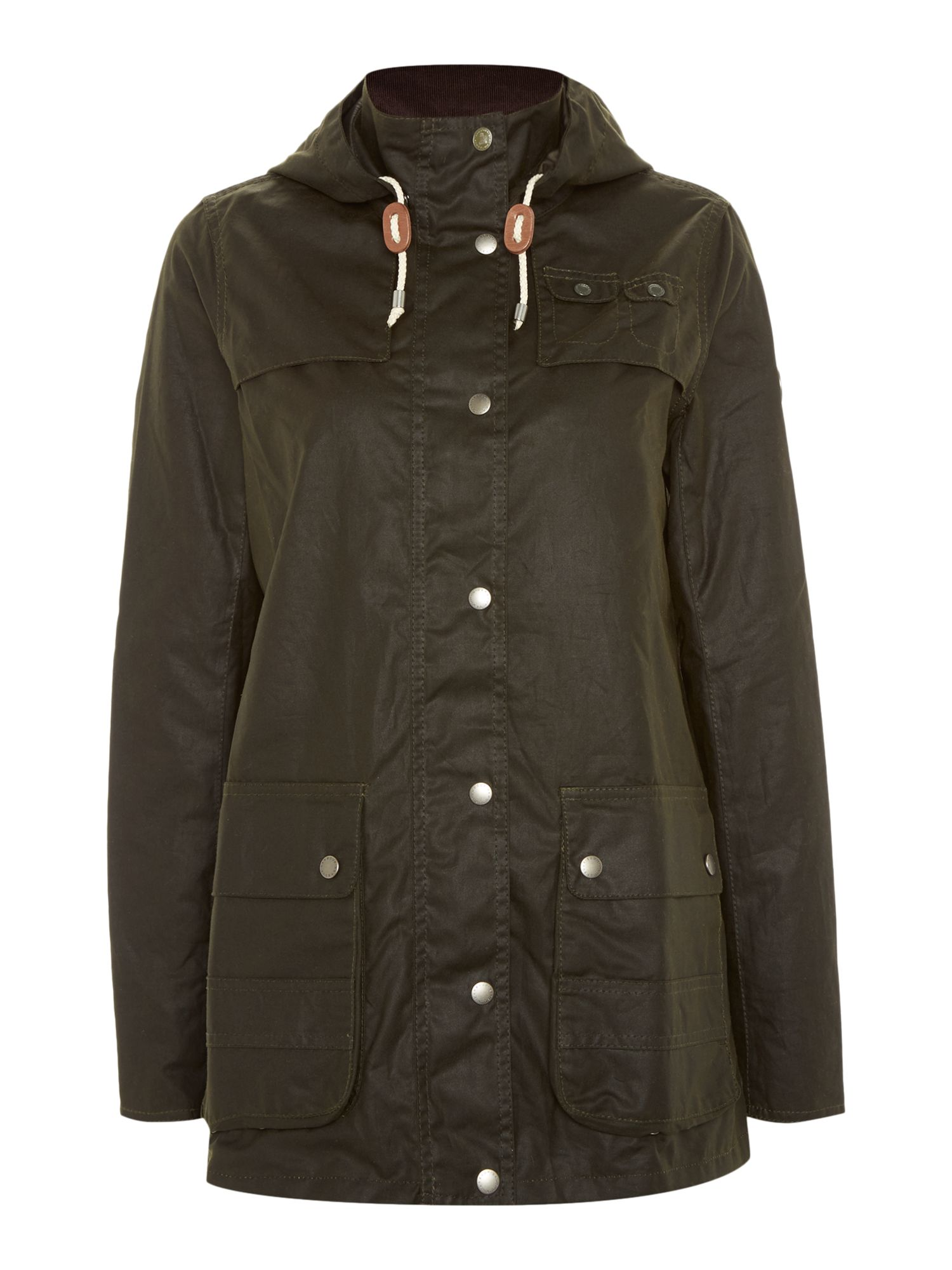 Barbour Headland wax jacket, Olive
