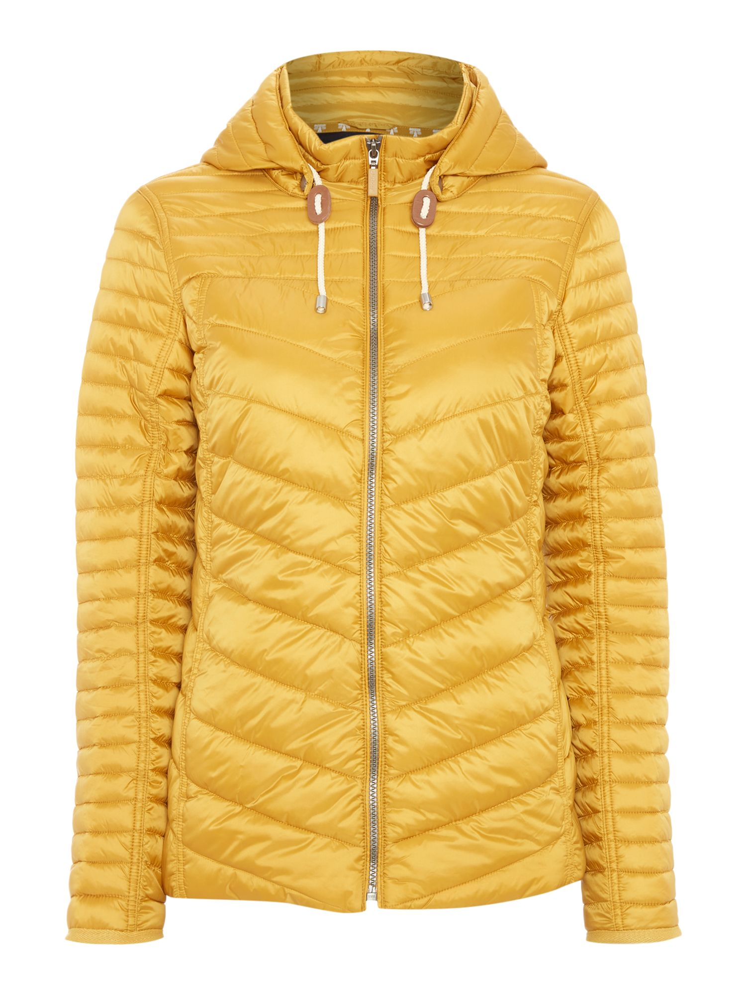 Barbour Headland Quilt Coat, Gold