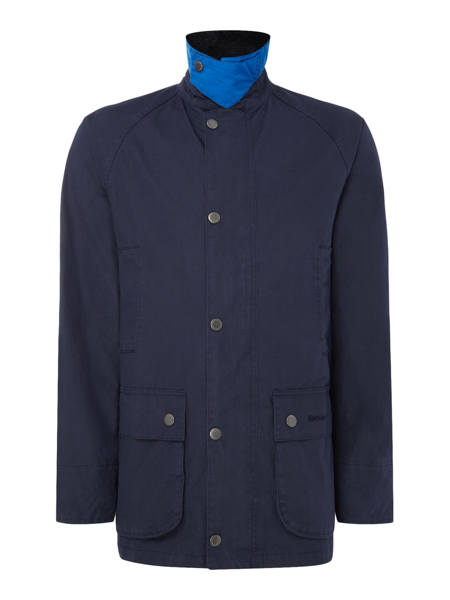 Mens Barbour Casual read jacket Navy