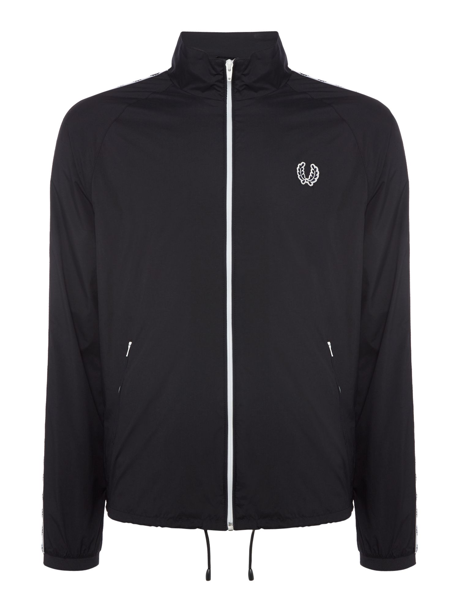 Mens Fred Perry Taped sports jacket Navy