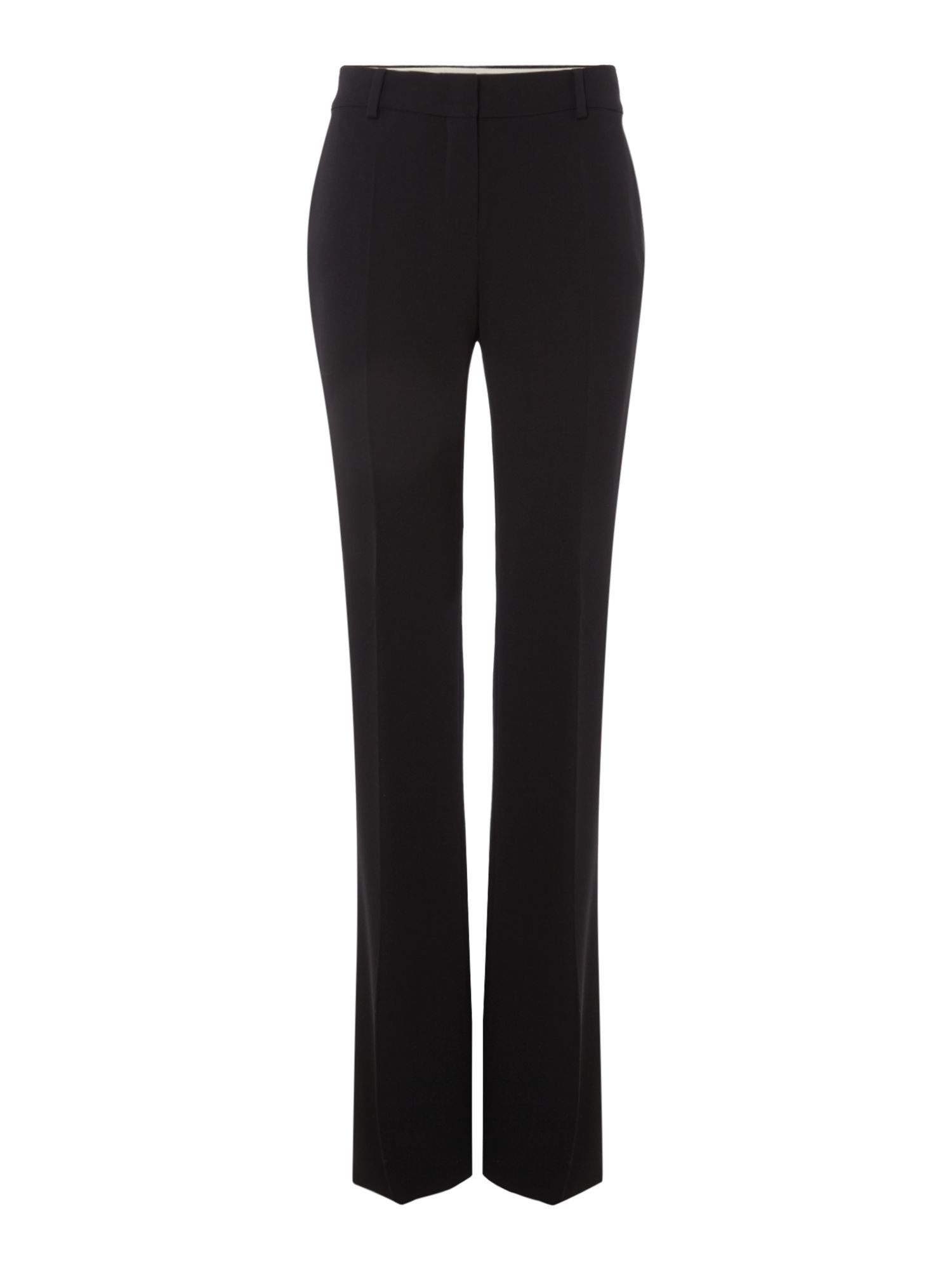 Max Mara Studio Sam palazzo straight leg trouser, Black