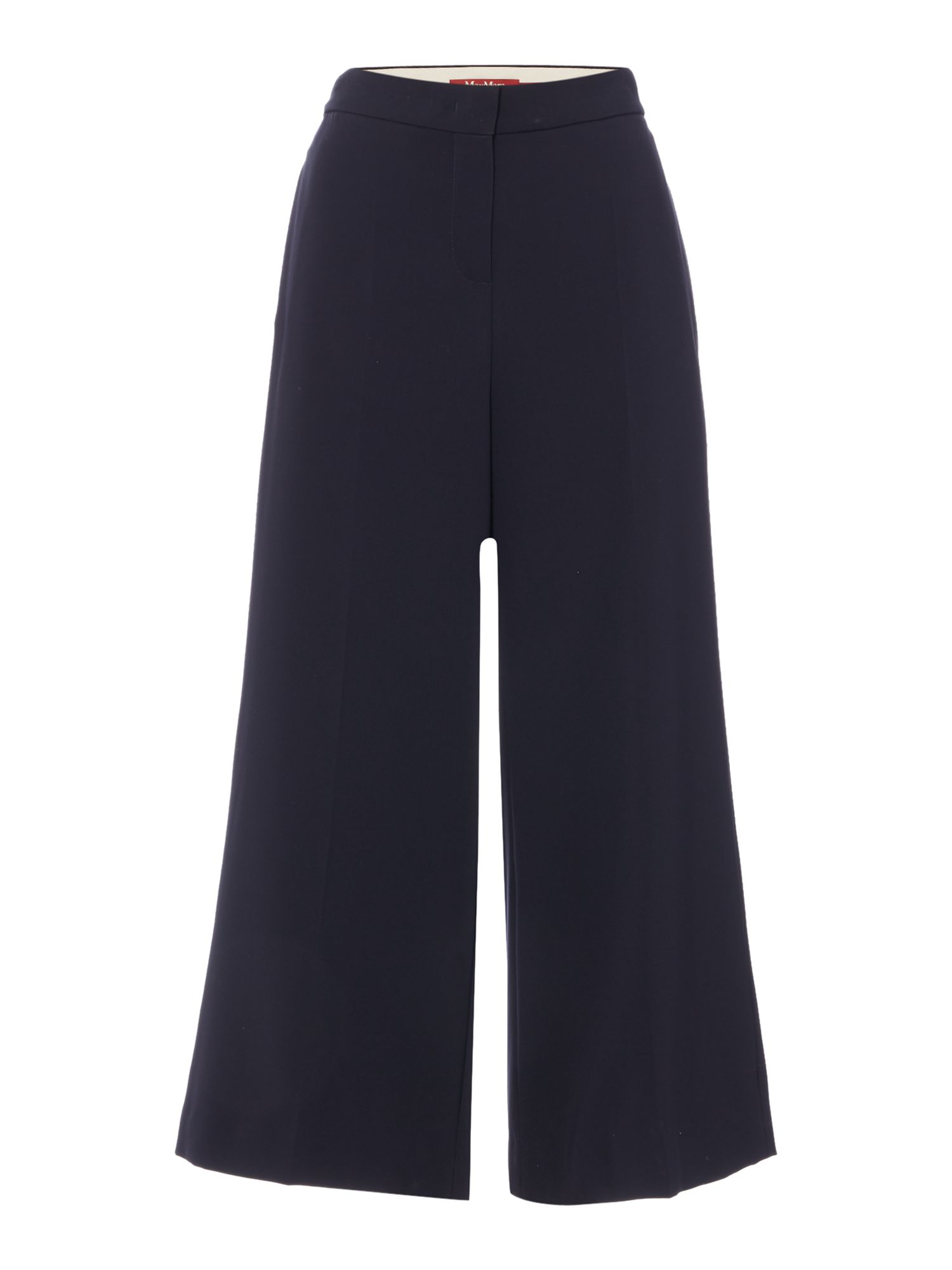 Max Mara Studio Emma cigarette ankle length trouser, Black