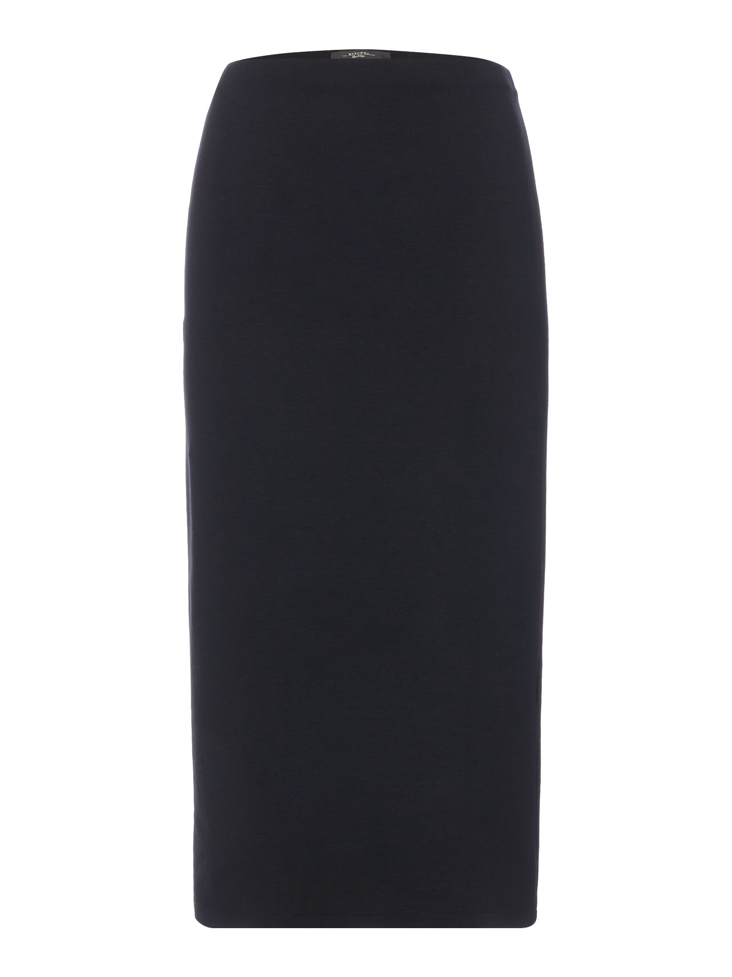 Max Mara Weekend Babila Black Pencil Skirt, Black