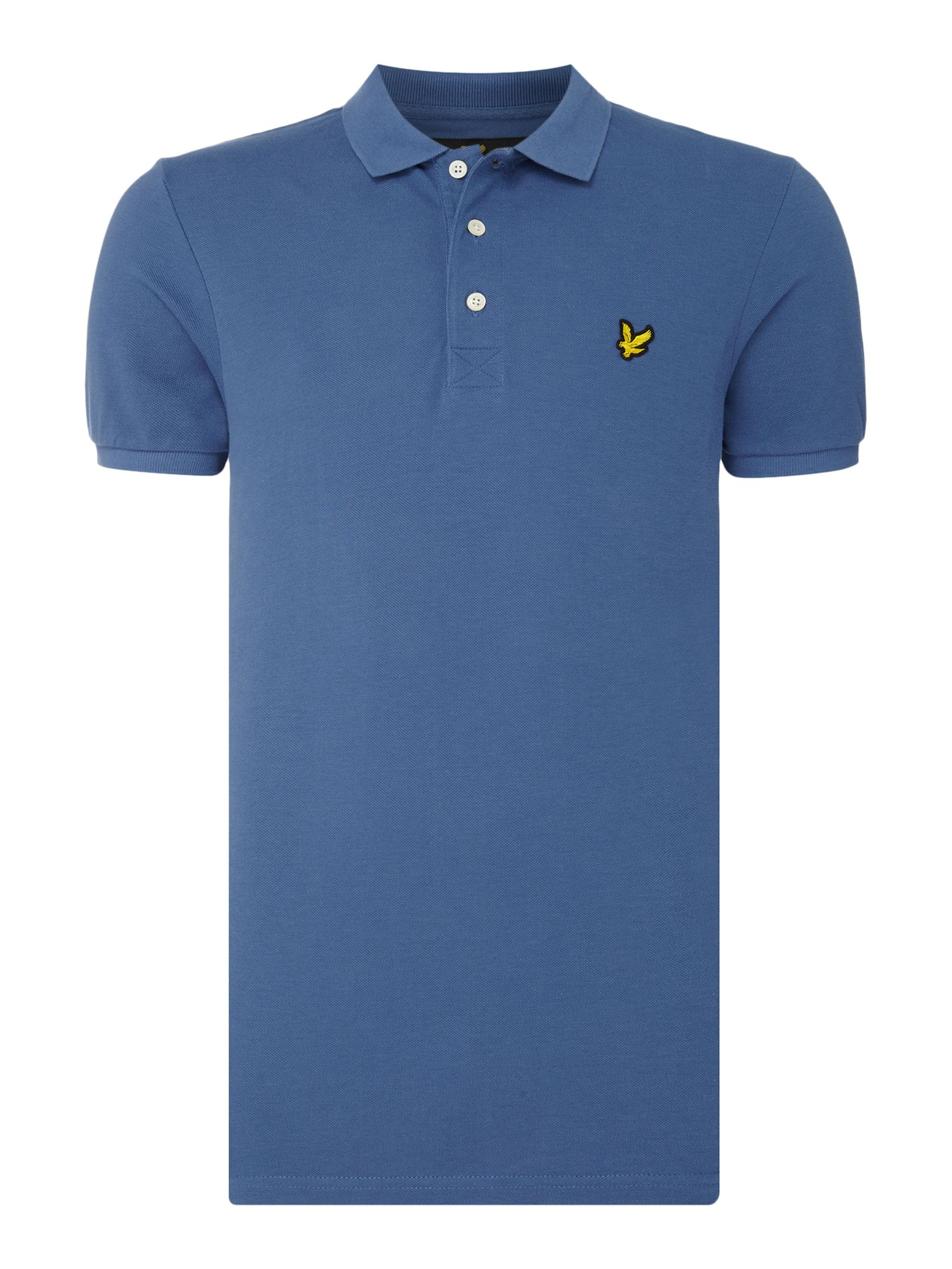 Men's Lyle and Scott Short Sleeve Classic Polo, Blue