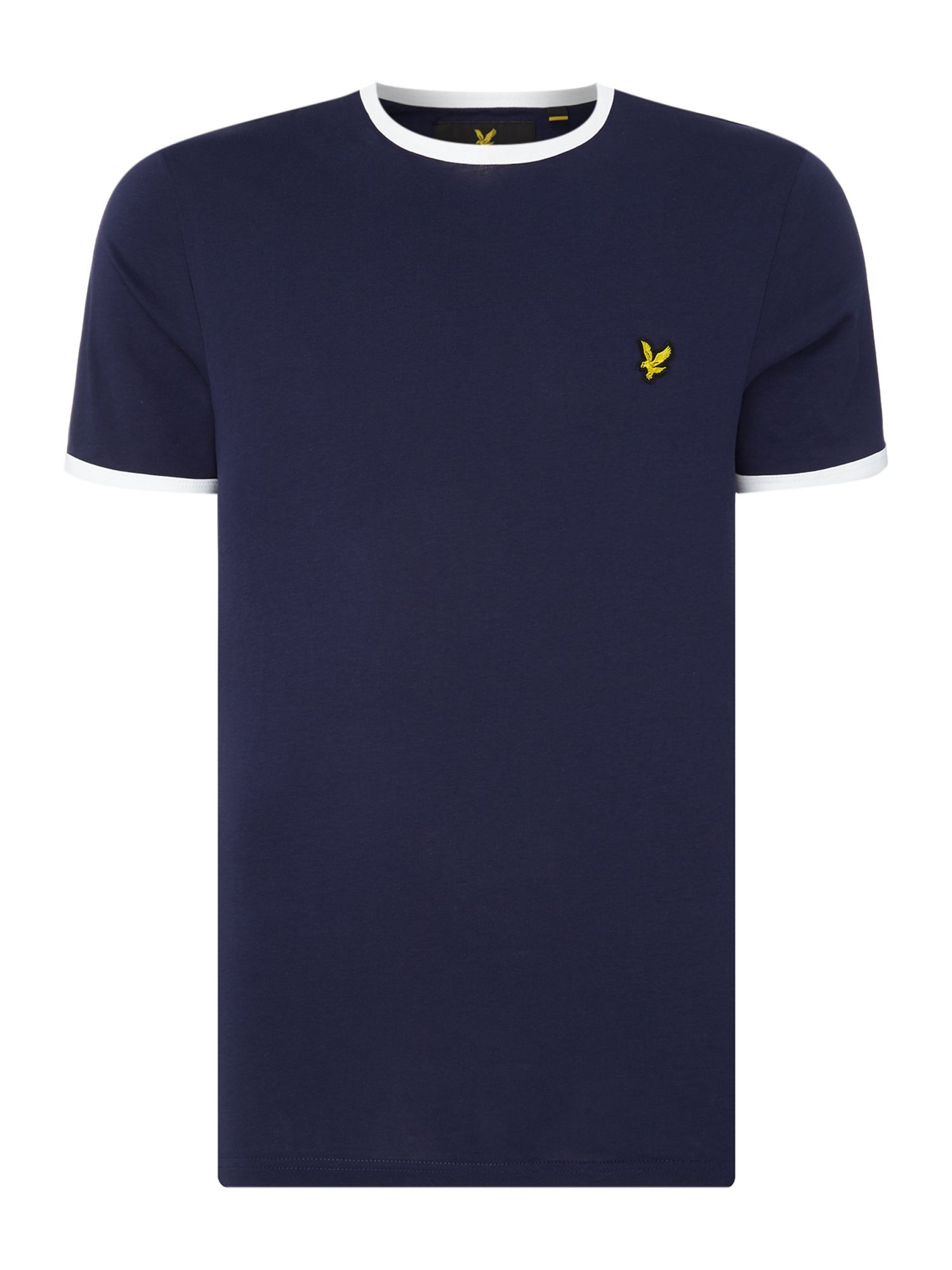 Men's Lyle and Scott Ringer crew neck short sleeve t-shirt, Blue