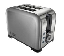 Russell Hobbs Canterbury Stainless Steel 2 Slot Toaster