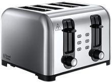 Russell Hobbs Stainless Steel 4 Slot Toaster