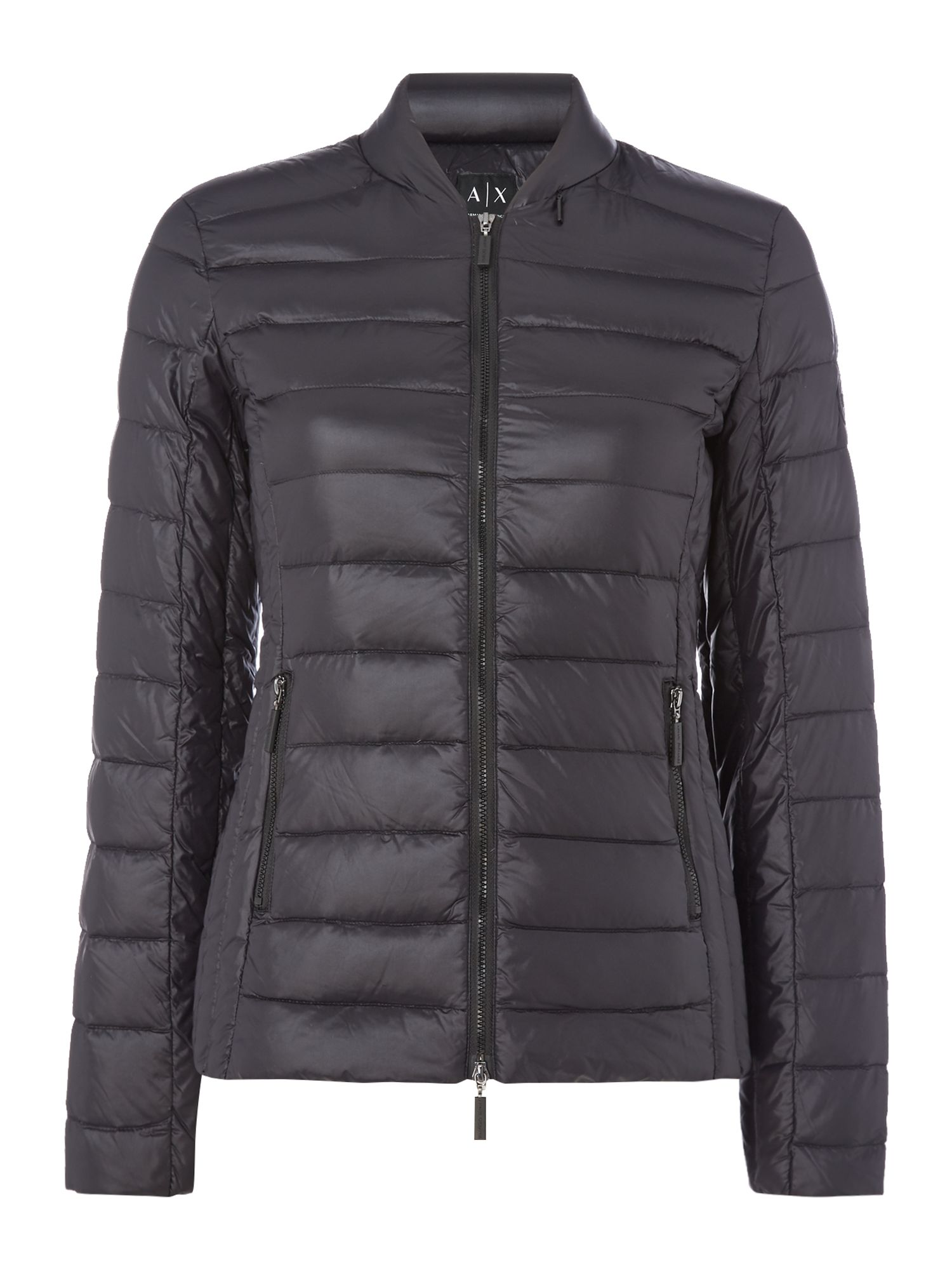 Armani Exchange Light Weight Jacket in Black, Black