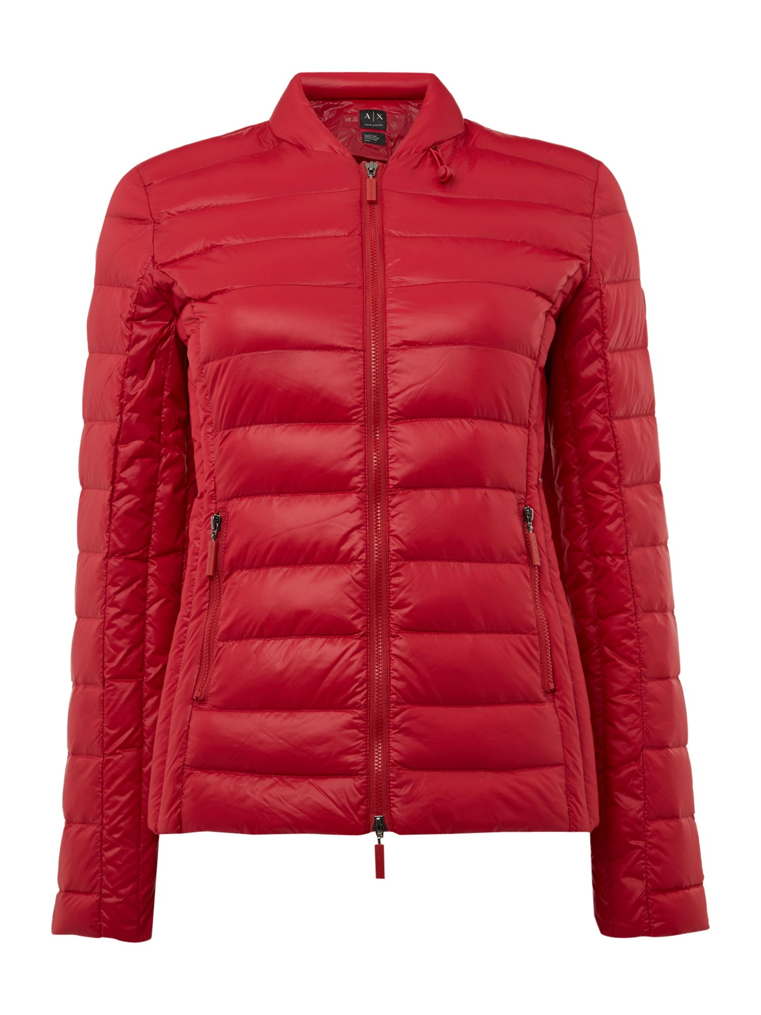 Armani Exchange Light Weight Jacket in royal Red, Red