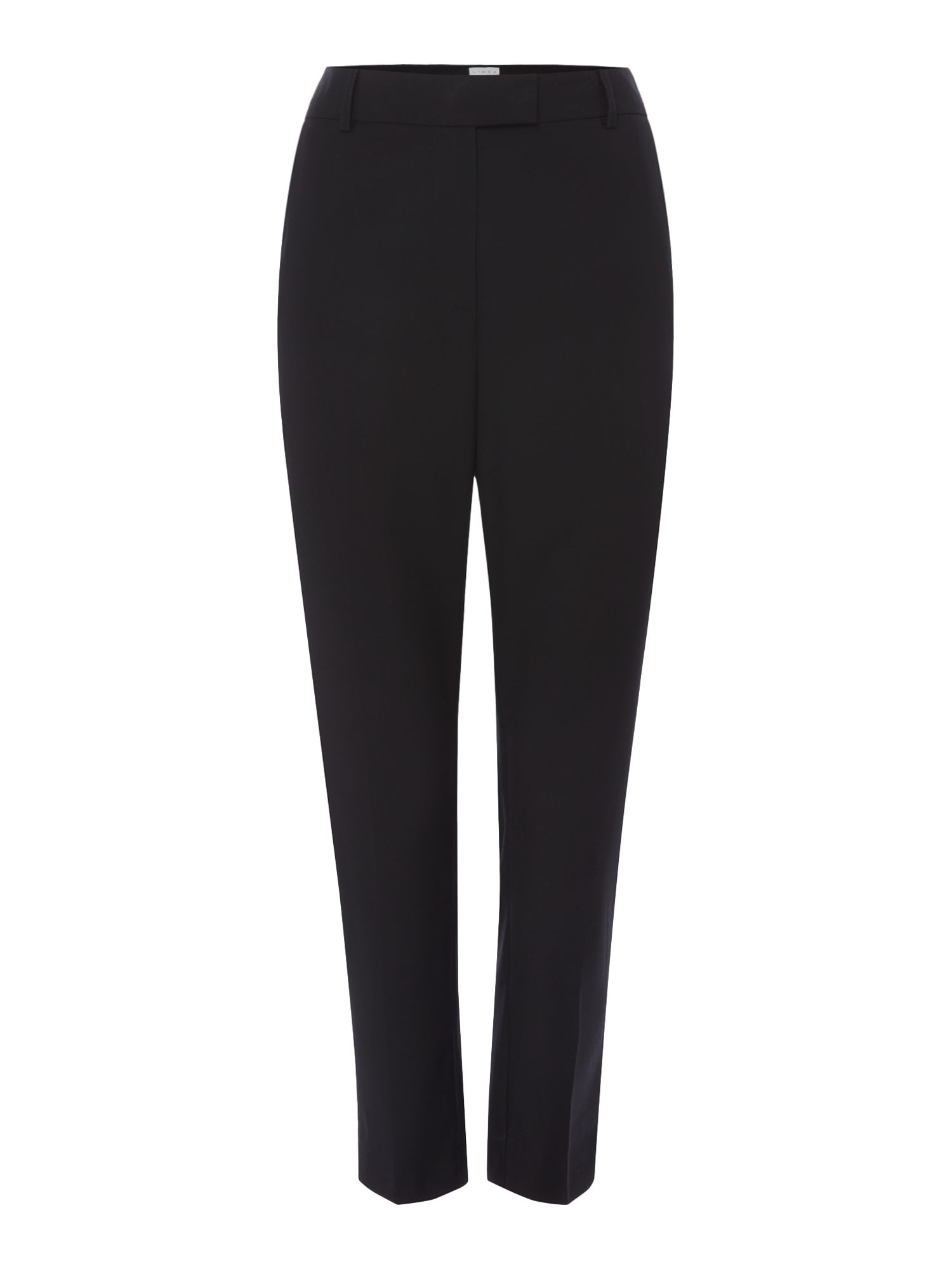Linea Mona slim leg trouser, Black