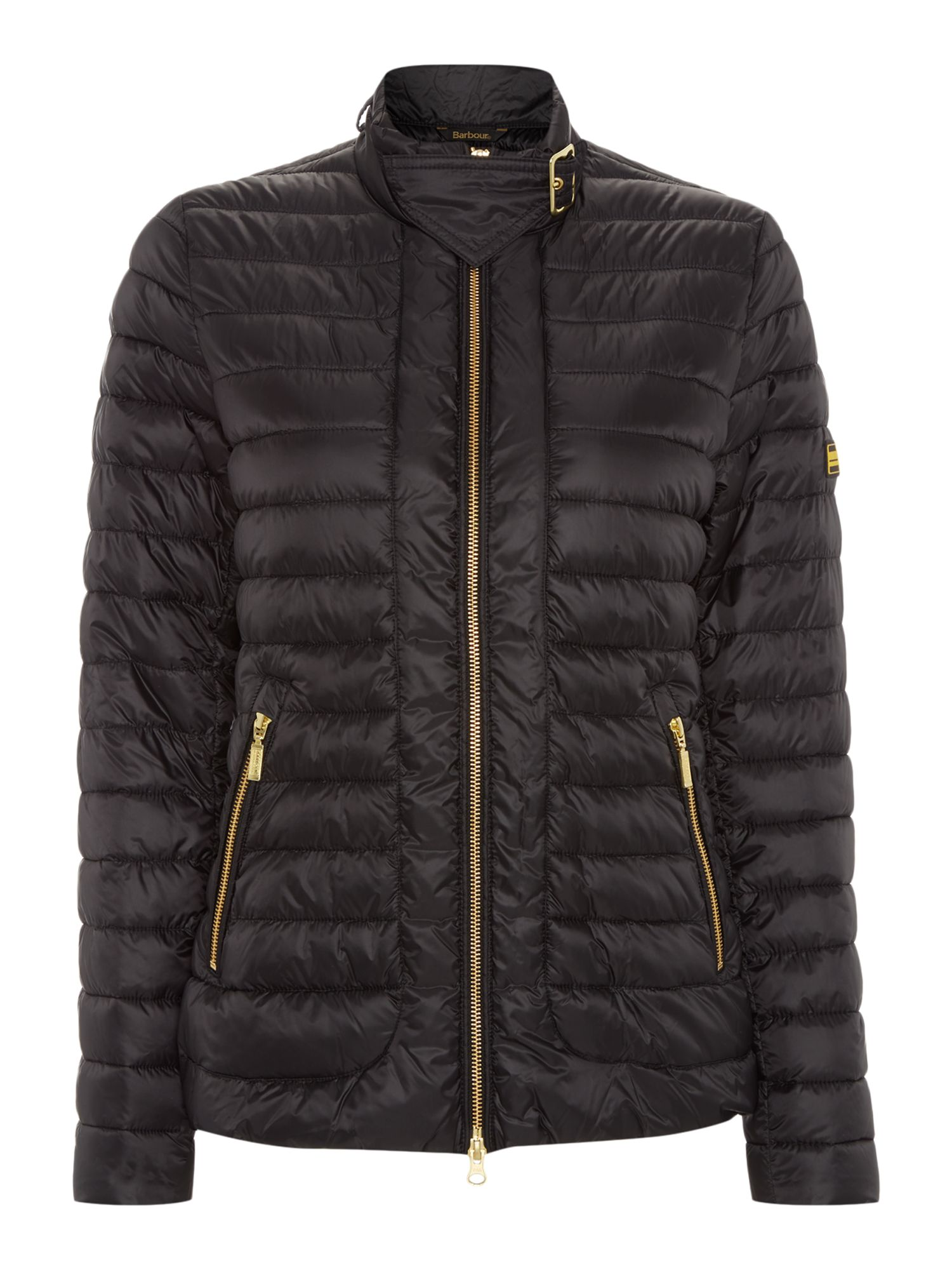 Barbour International Firth Quilt Jacket, Black