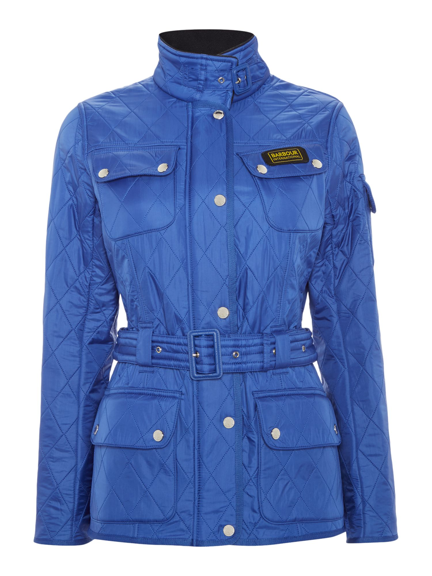 Barbour International Polarquilt Jacket, Blue