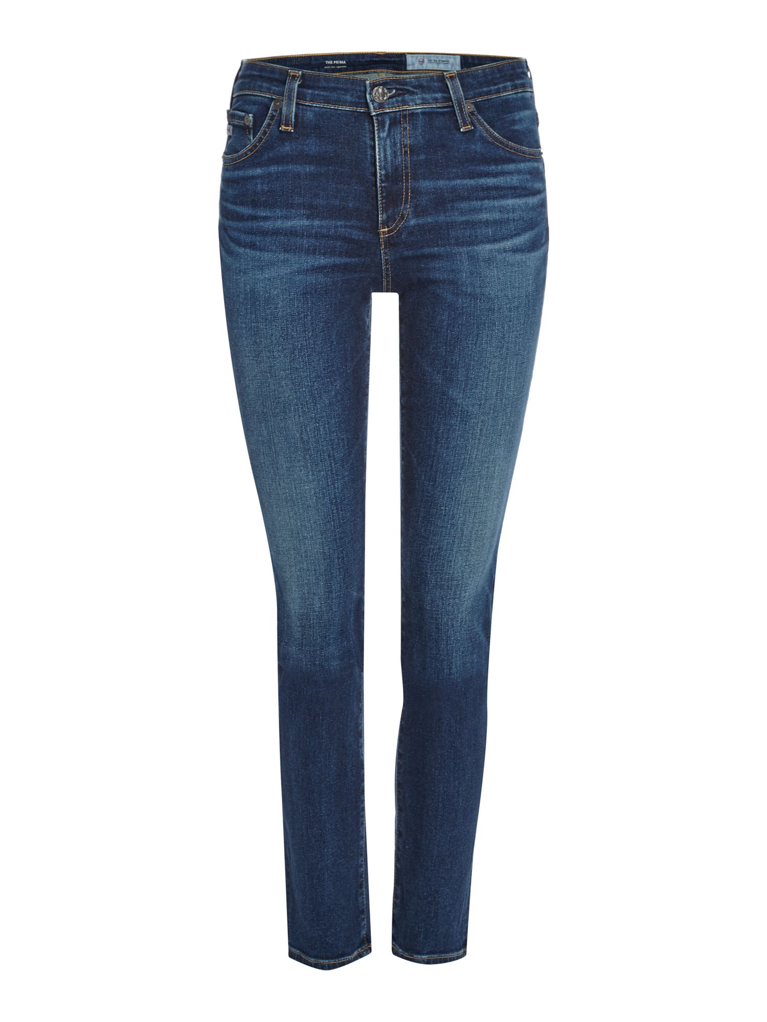 Mid Rise Skinny Prima In 4 Years Rapids, Denim Light Wash