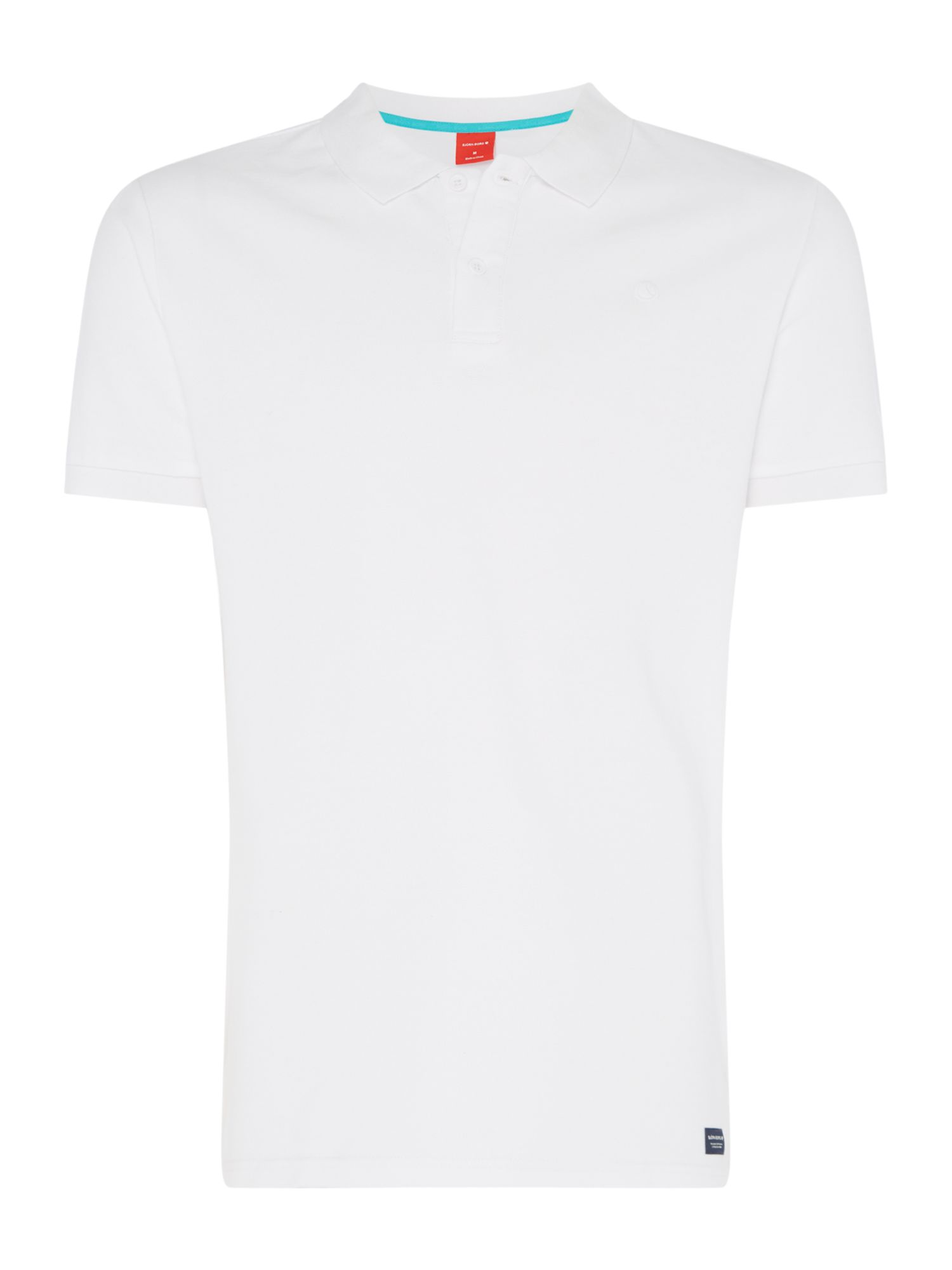 Men's Bjorn Borg Philip polo, White