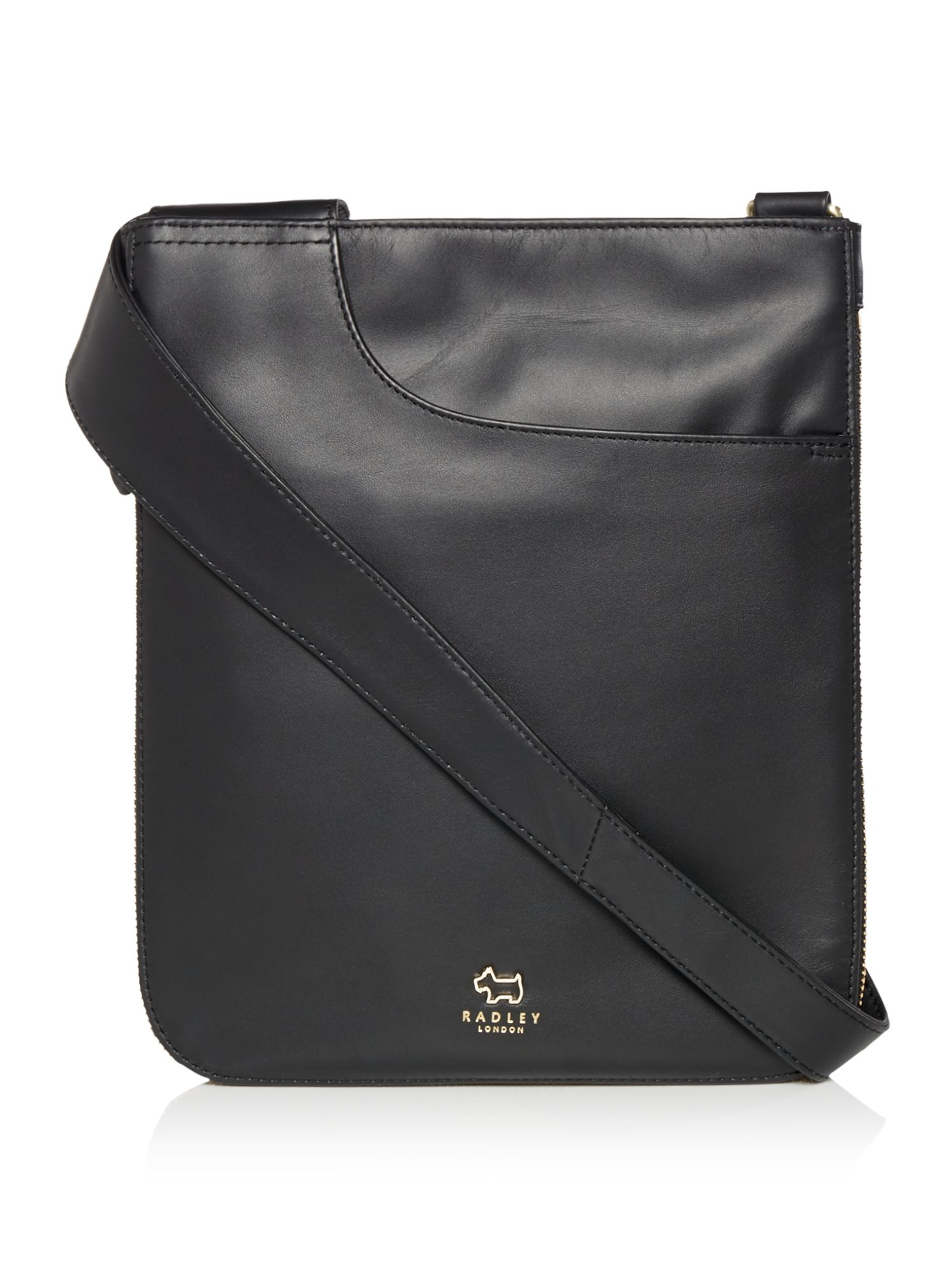 Radley Pocket bag medium zip cross body bag Black