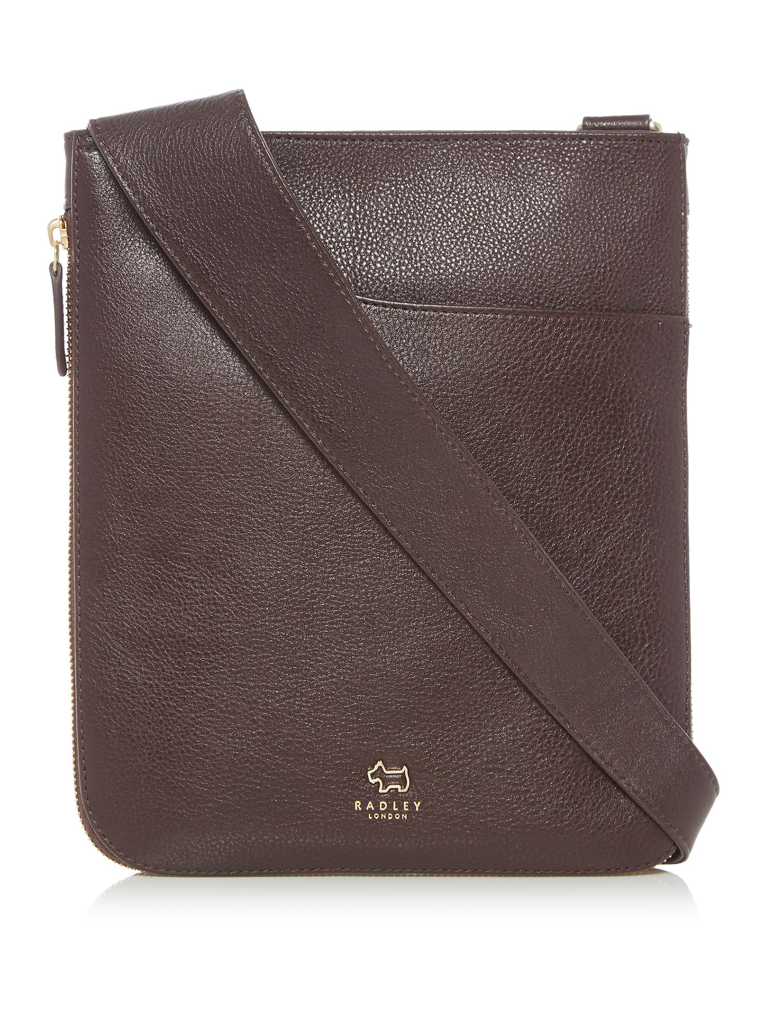Radley Pocket bag medium zip cross body bag Brown