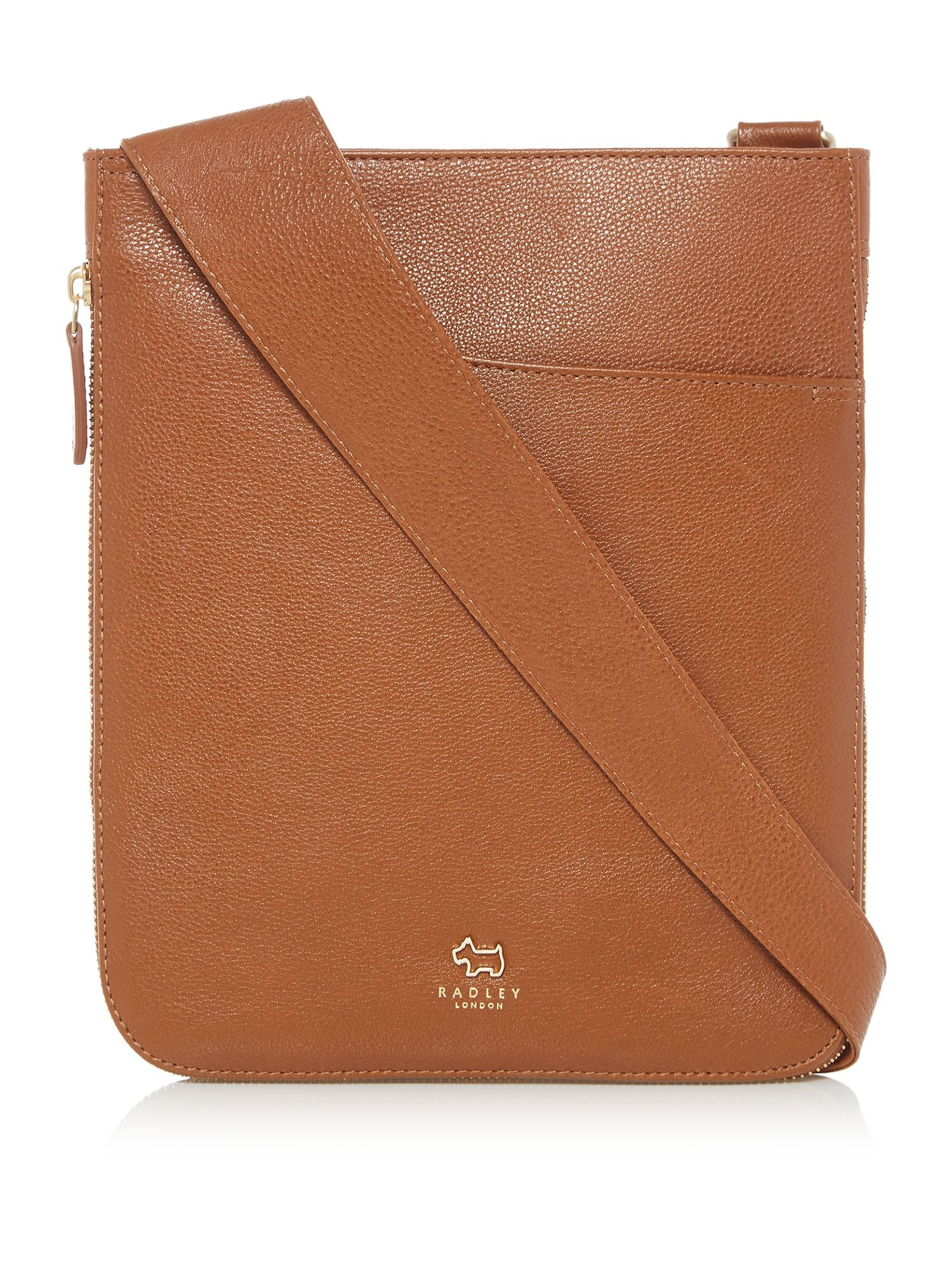 Radley Pocket bag medium zip cross body bag Tan