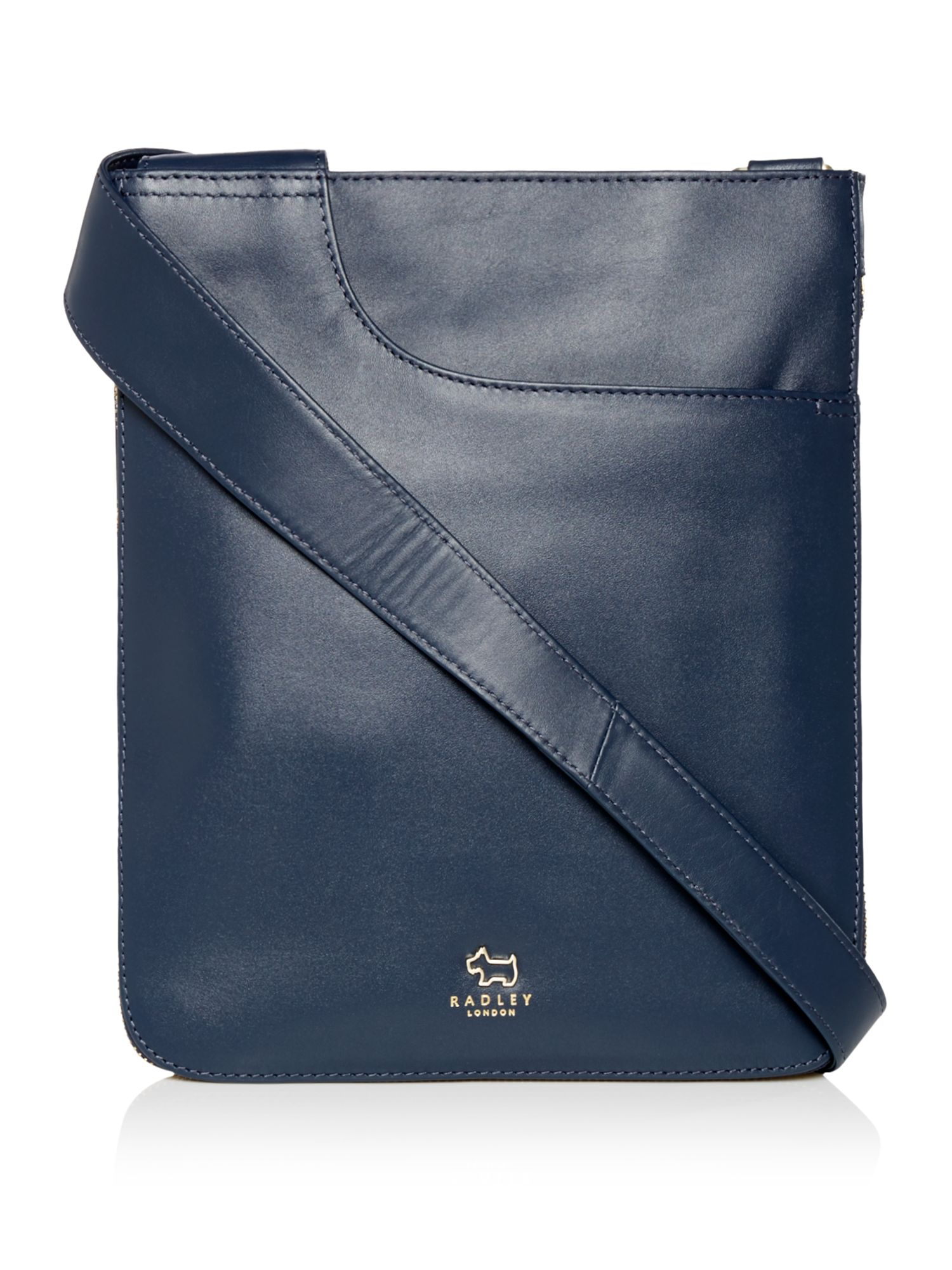Radley Pocket bag medium zip cross body bag Navy