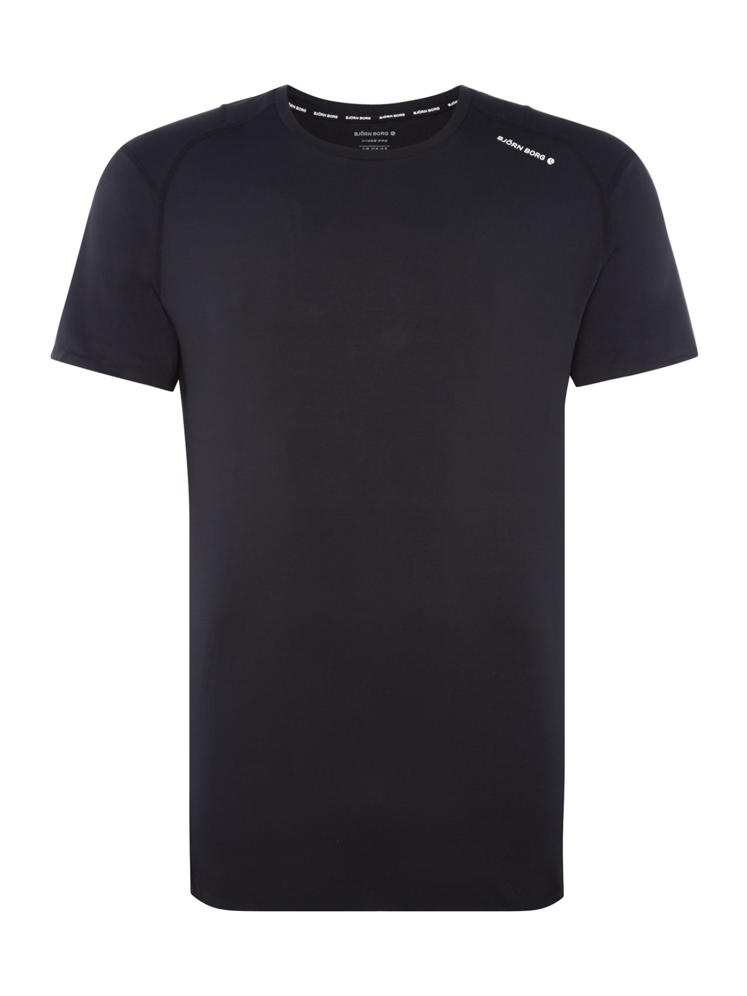 Men's Bjorn Borg Patric short sleeve t-shirt, Black