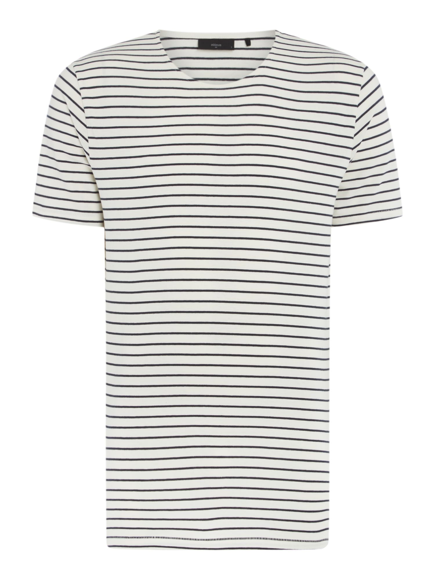 Men's Minimum Striped Crew Neck T-Shirt, White
