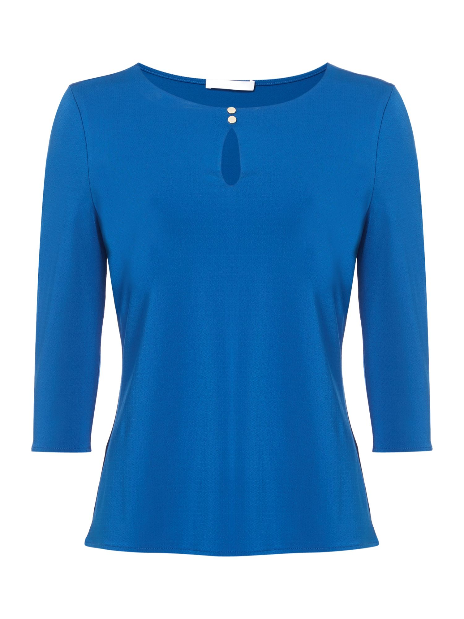Hugo Boss Epina Jersey Longsleeve Top, Blue
