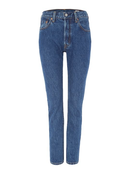 Levi's Exclusive 501 Skinny Jean in Pop Rock