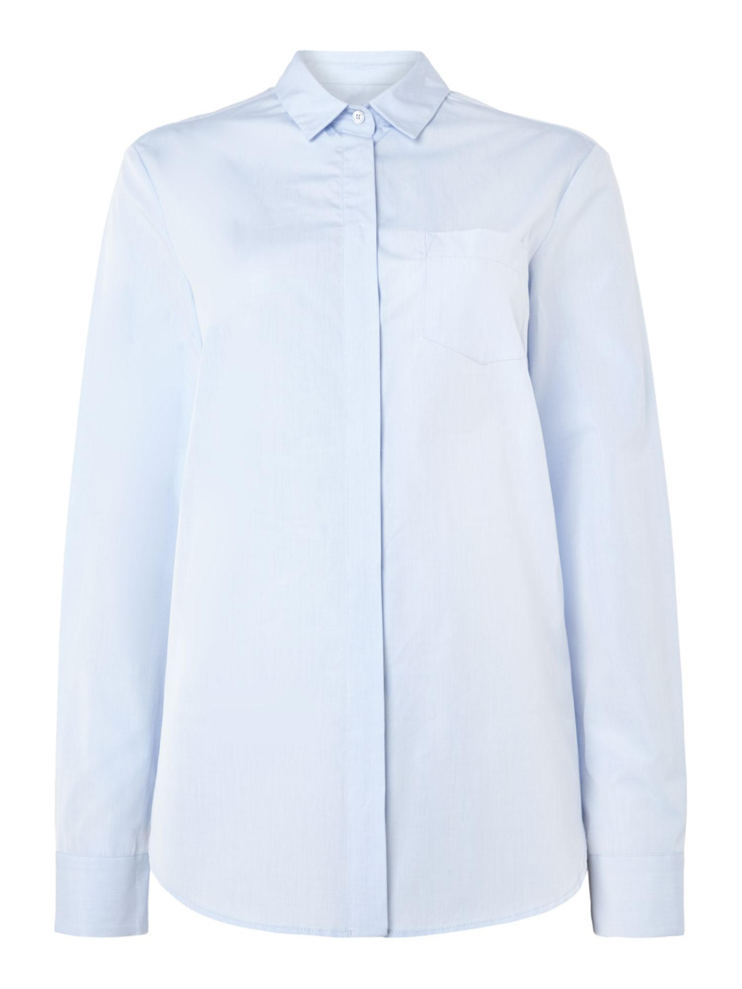 Max Mara Weekend Raggio long sleeve shirt, Light Blue