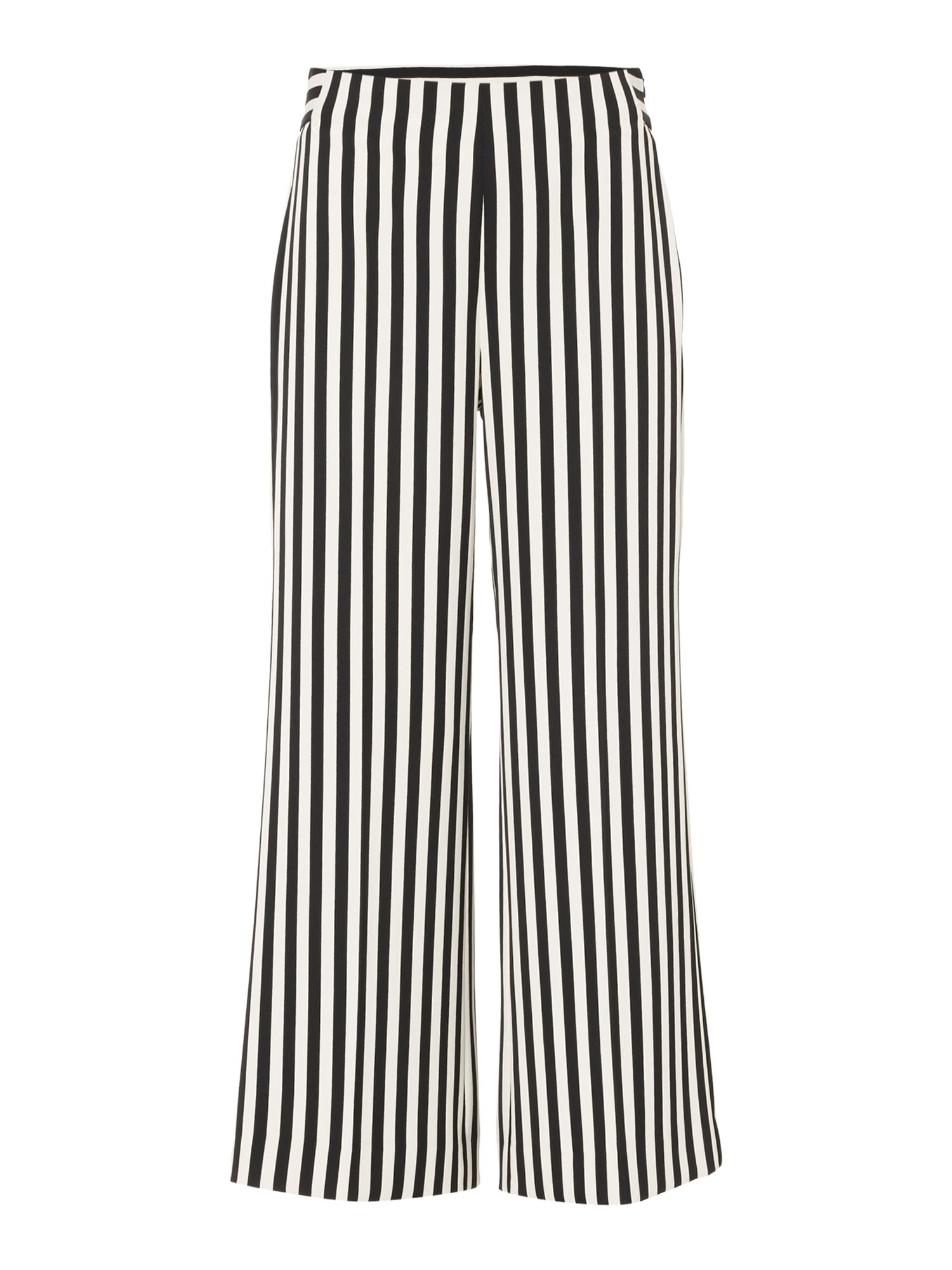 Marella Pino stripe trouser, Black