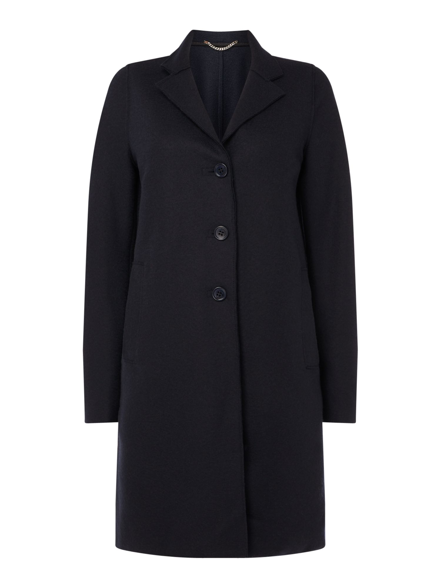 Marella Ecru wool coat, Midnight