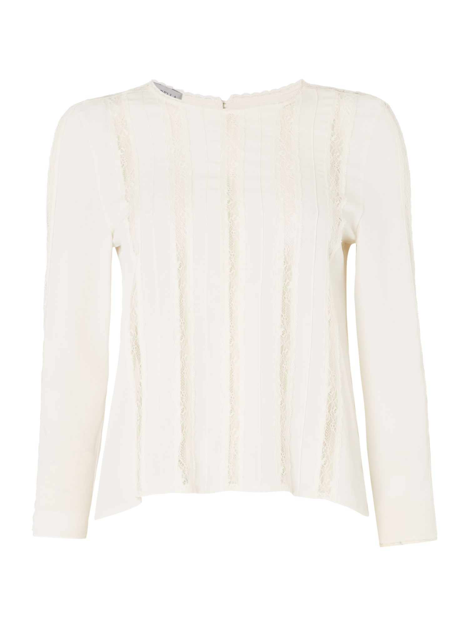 Marella Toga lace blouse, Cream
