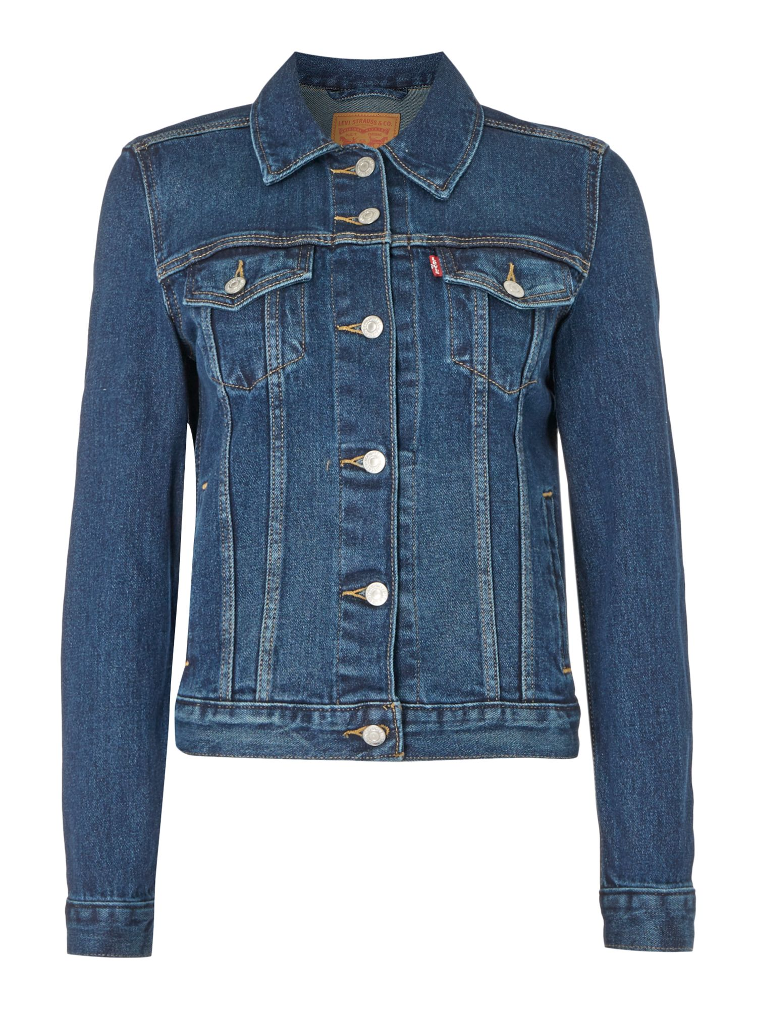 Levi's Origional Trucker Jacket In Lust For Life, Denim Mid Wash