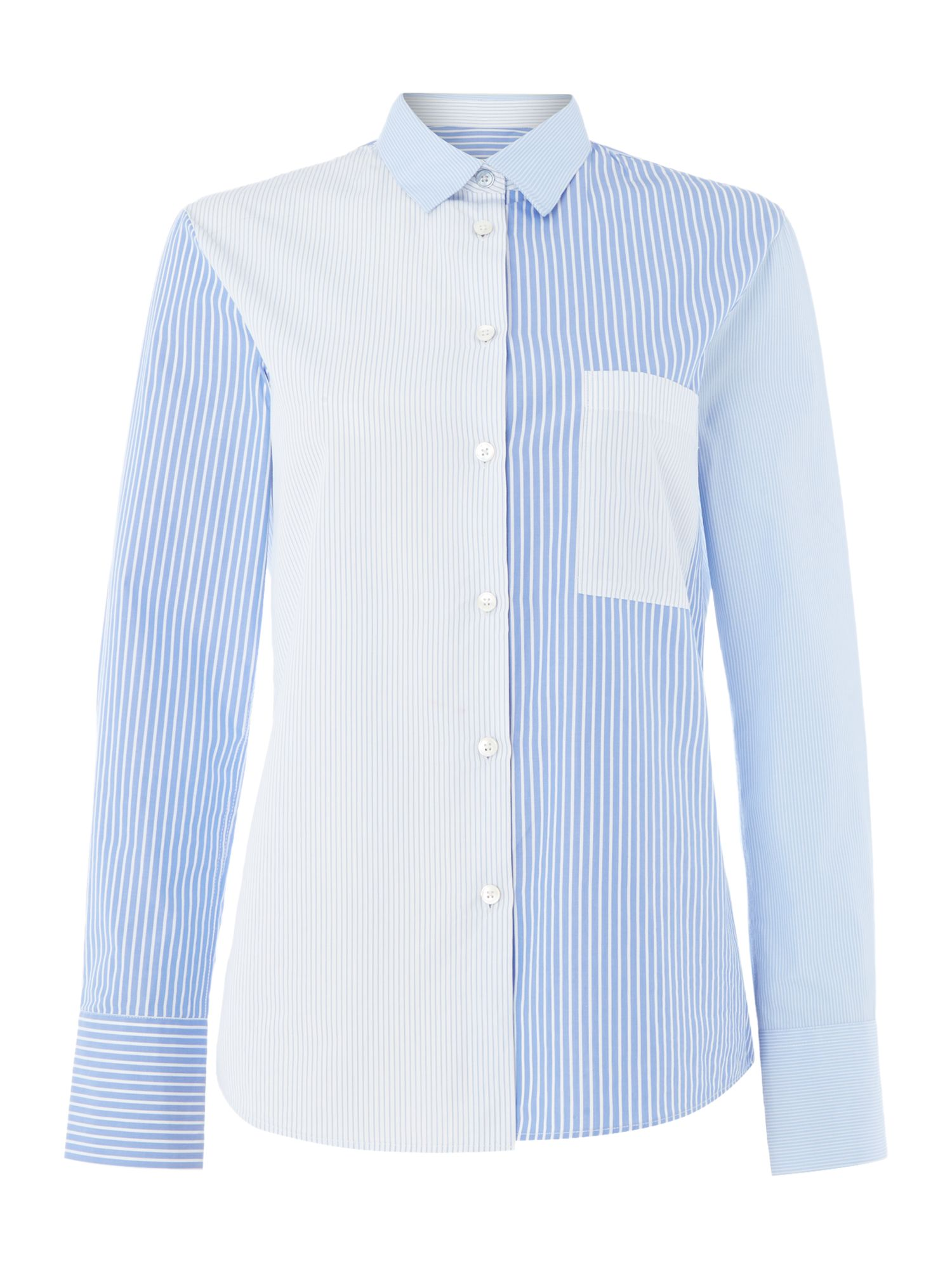 PS By Paul Smith Striped shirt, Light Blue