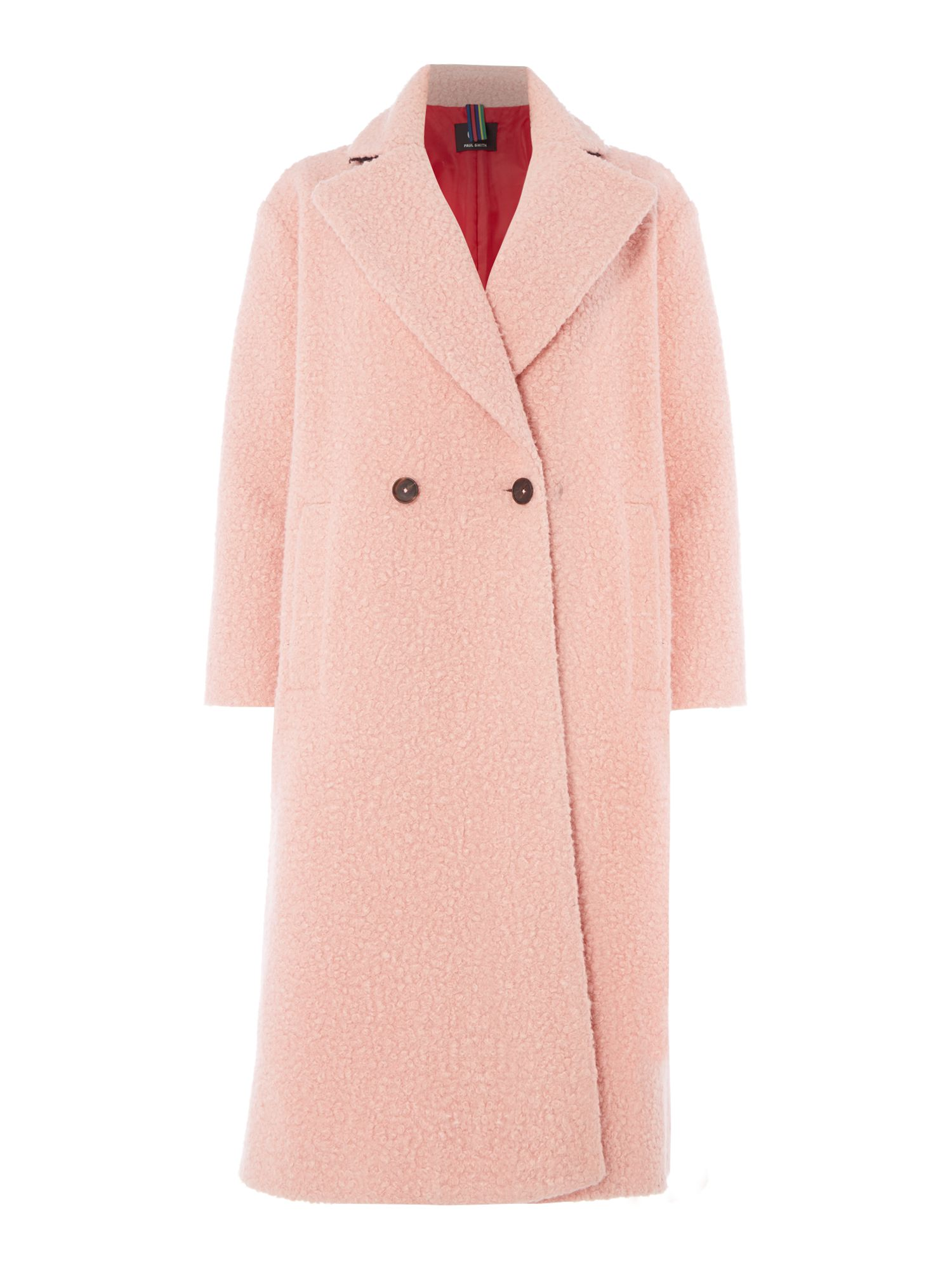 PS By Paul Smith Teddy bear coat, Light Pink