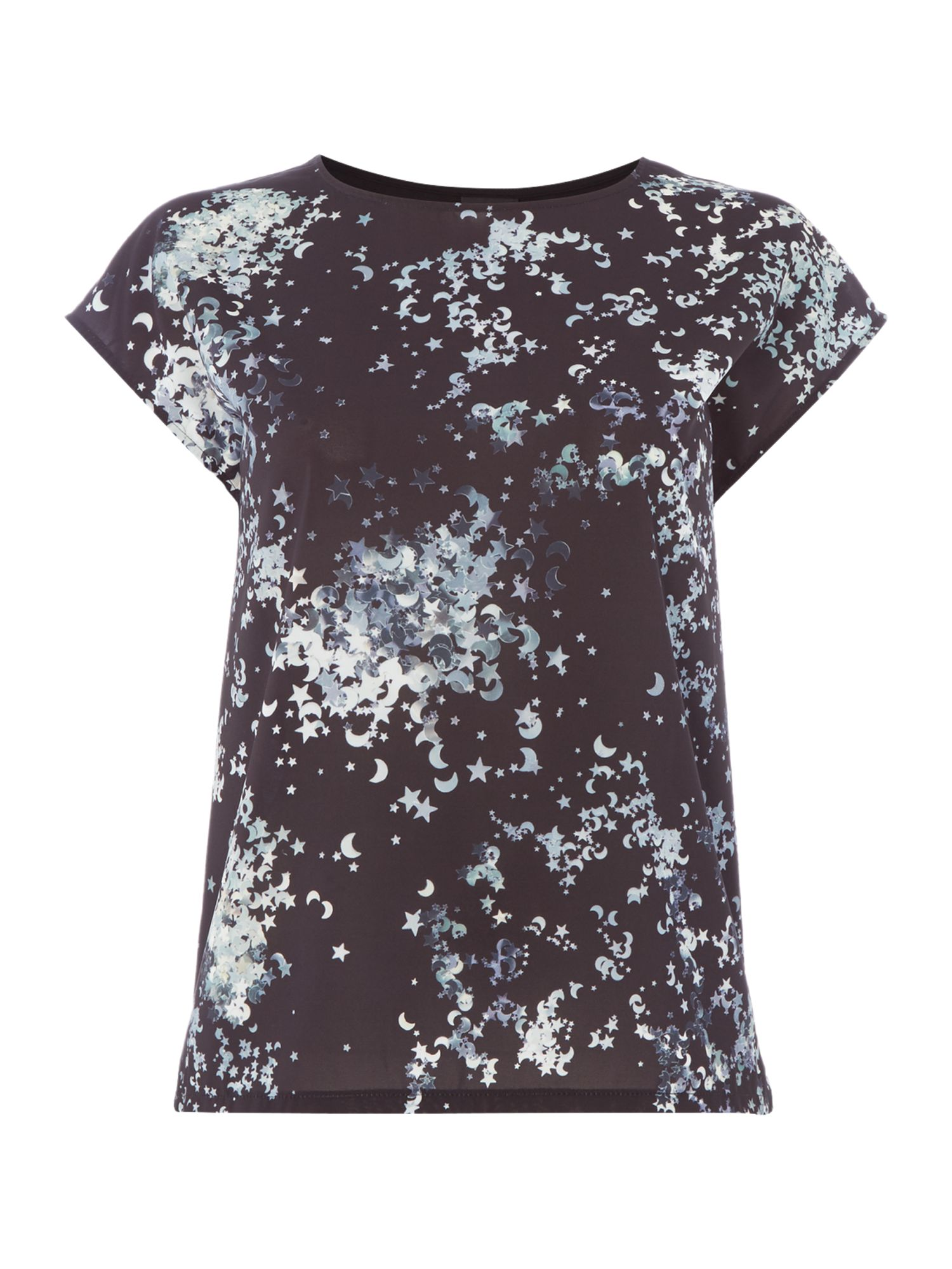 PS By Paul Smith Star front t-shirt, Black