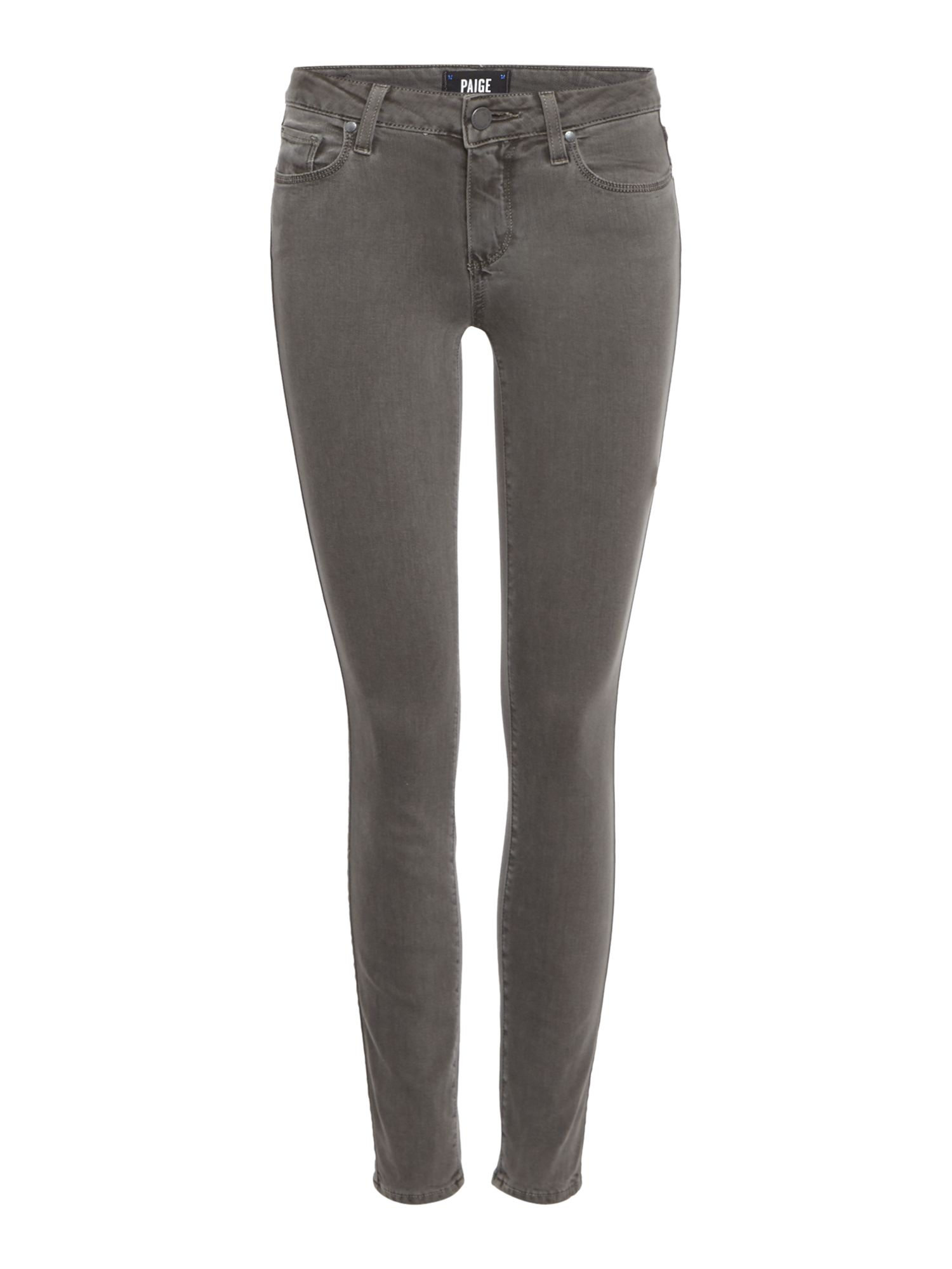 Verdugo Ankle Jeans In Coal Grey, Grey