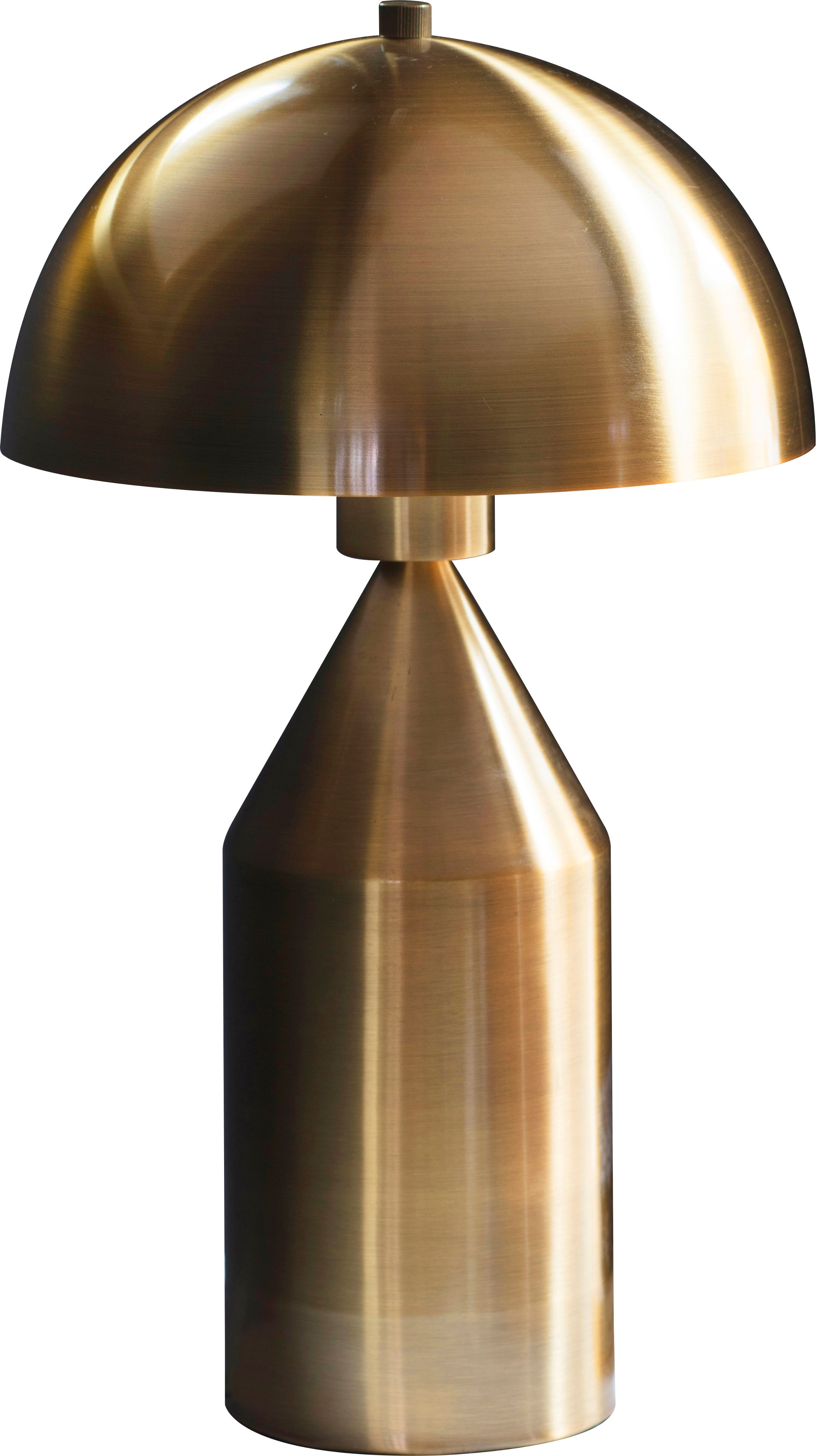 Biba albany gold table lamp gold gay times for Quality classic house of fraser