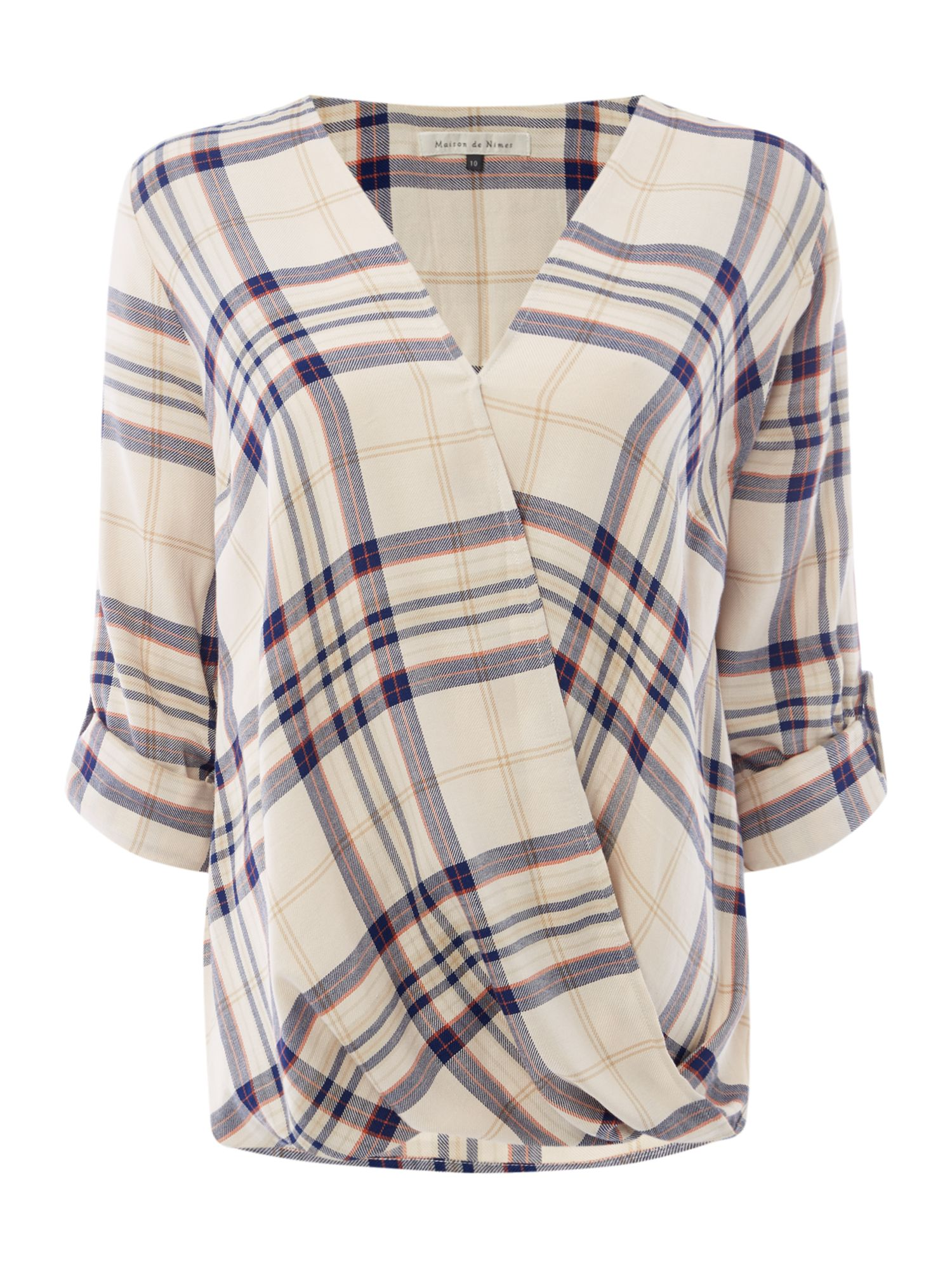 Maison De Nimes Oak Check Fluid Shirt, Multi-Coloured