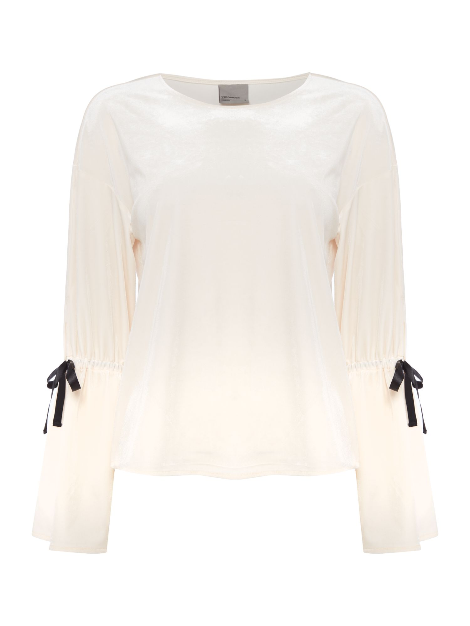 Vero Moda Long sleeves crew neck top with sleeve details, Mauve