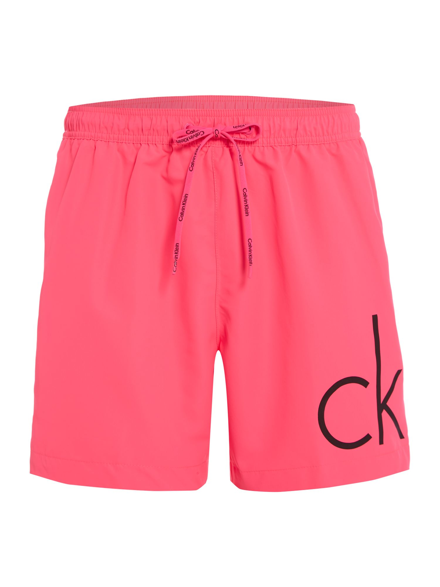 Men's Calvin Klein CK Logo Swim Short, Pink