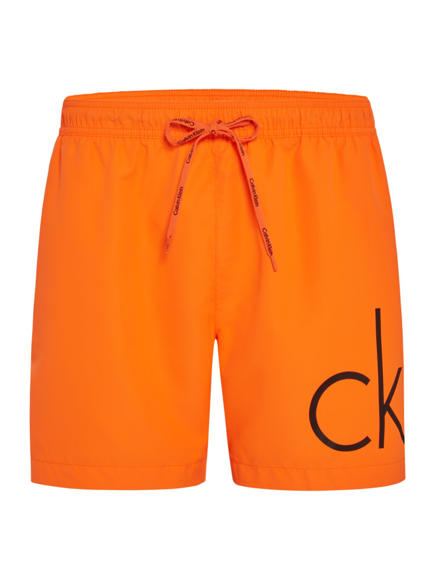 Men's Calvin Klein CK Logo Swim Short, Orange